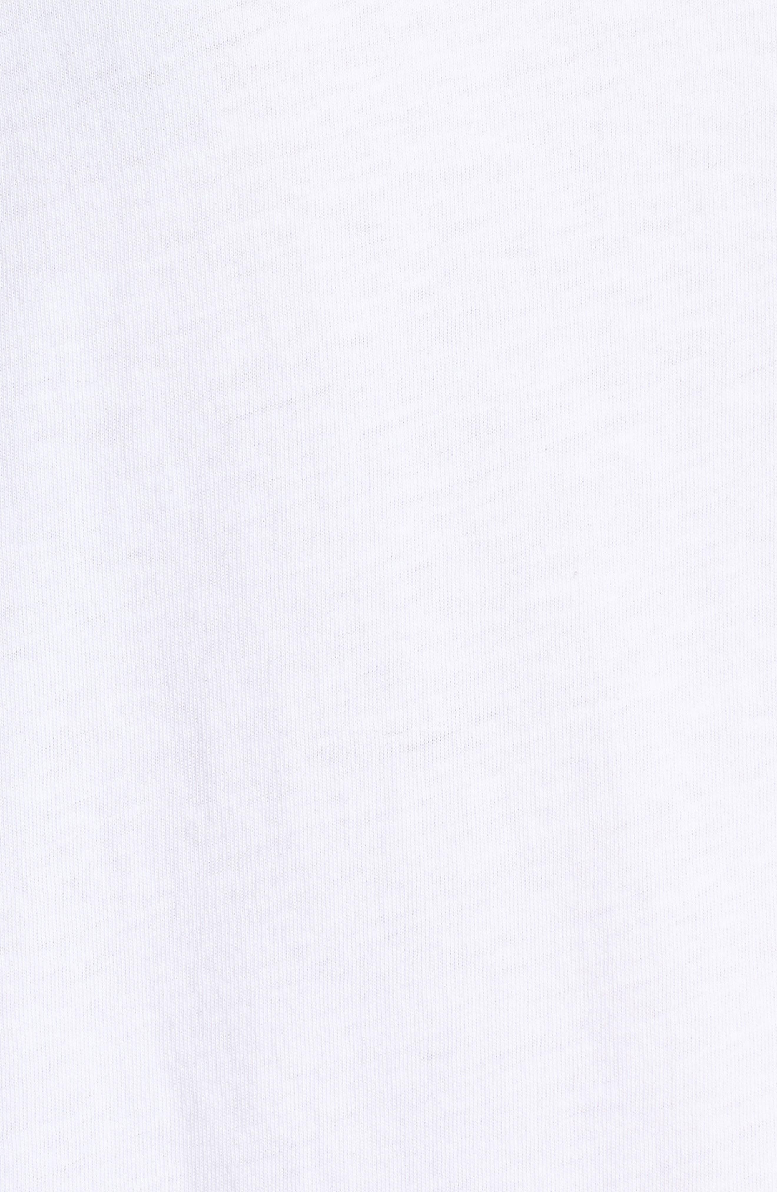 Hadlow Pocket Tee,                             Alternate thumbnail 6, color,                             White