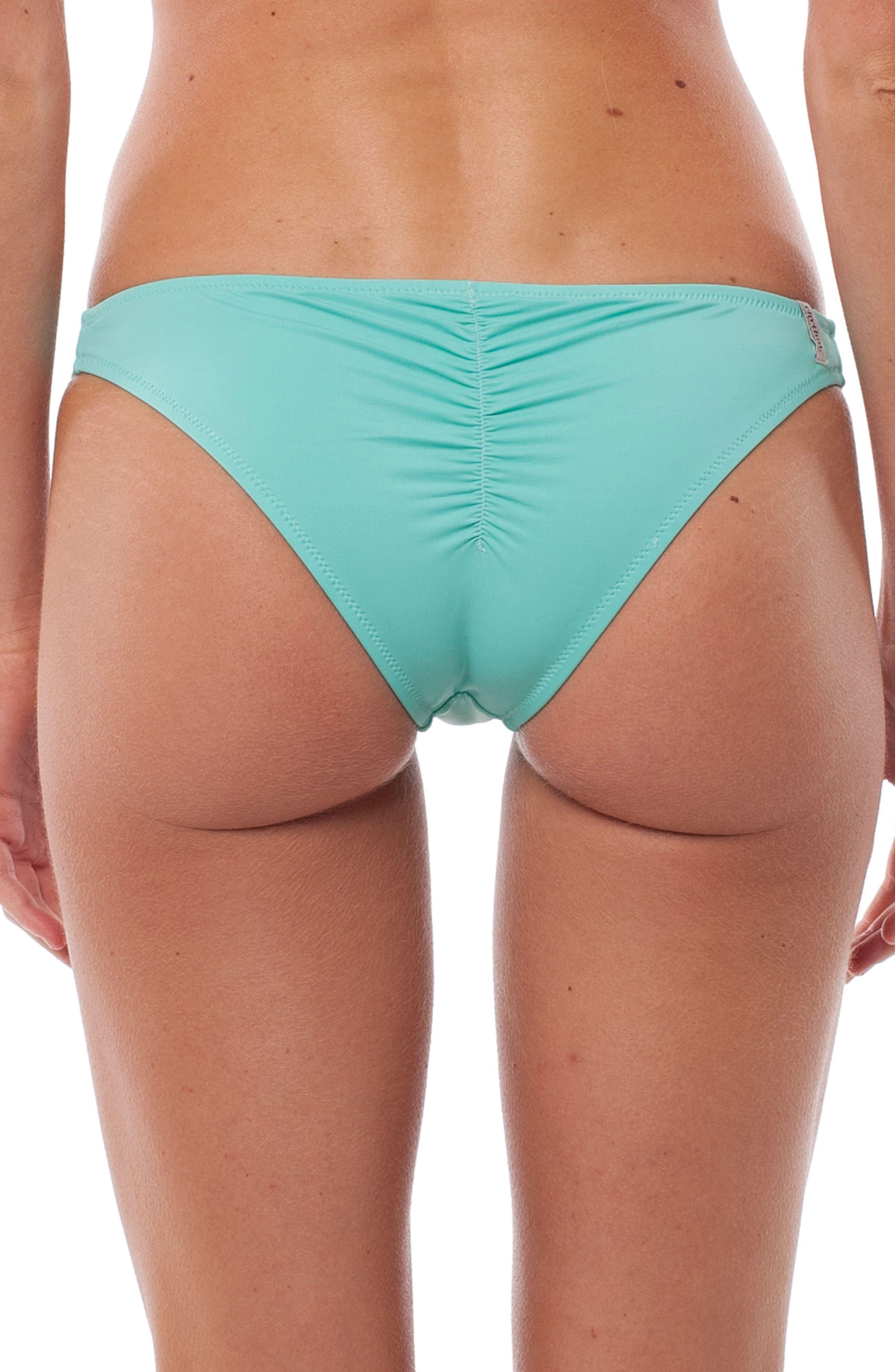 My Cheeky Bikini Bottoms,                             Alternate thumbnail 2, color,                             Aruba