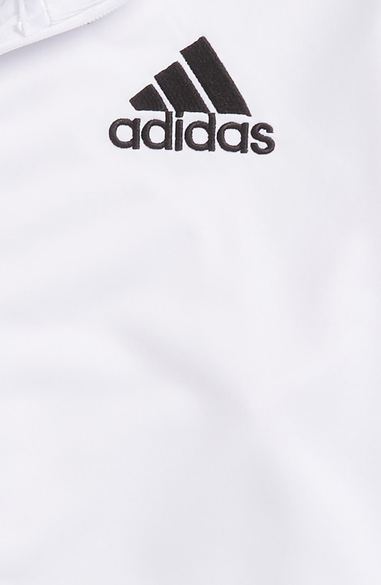 Co-Ed Designator Jacket,                             Alternate thumbnail 2, color,                             White/ Black