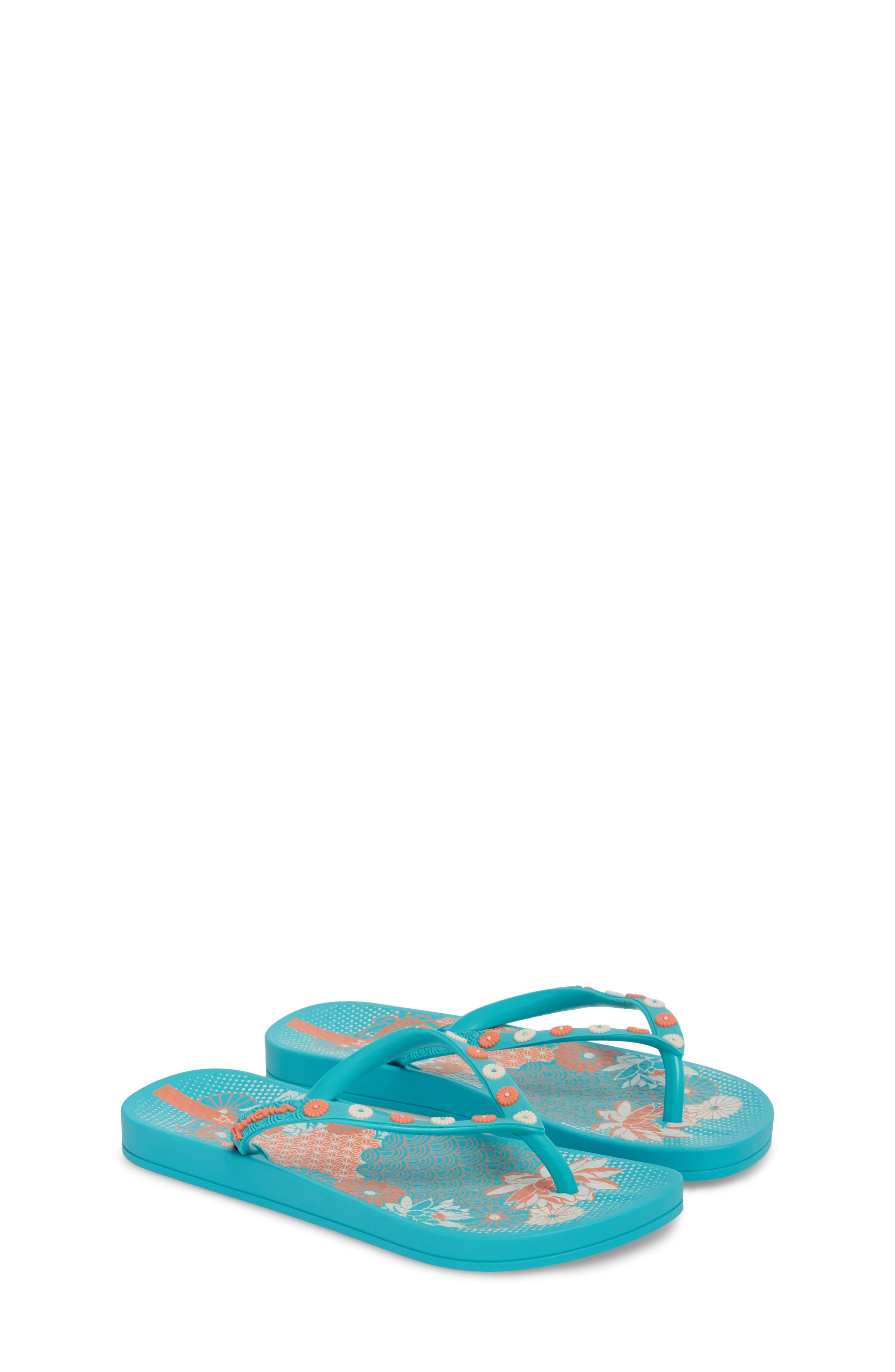 Ana Lovely Flip Flop,                             Alternate thumbnail 3, color,                             Blue