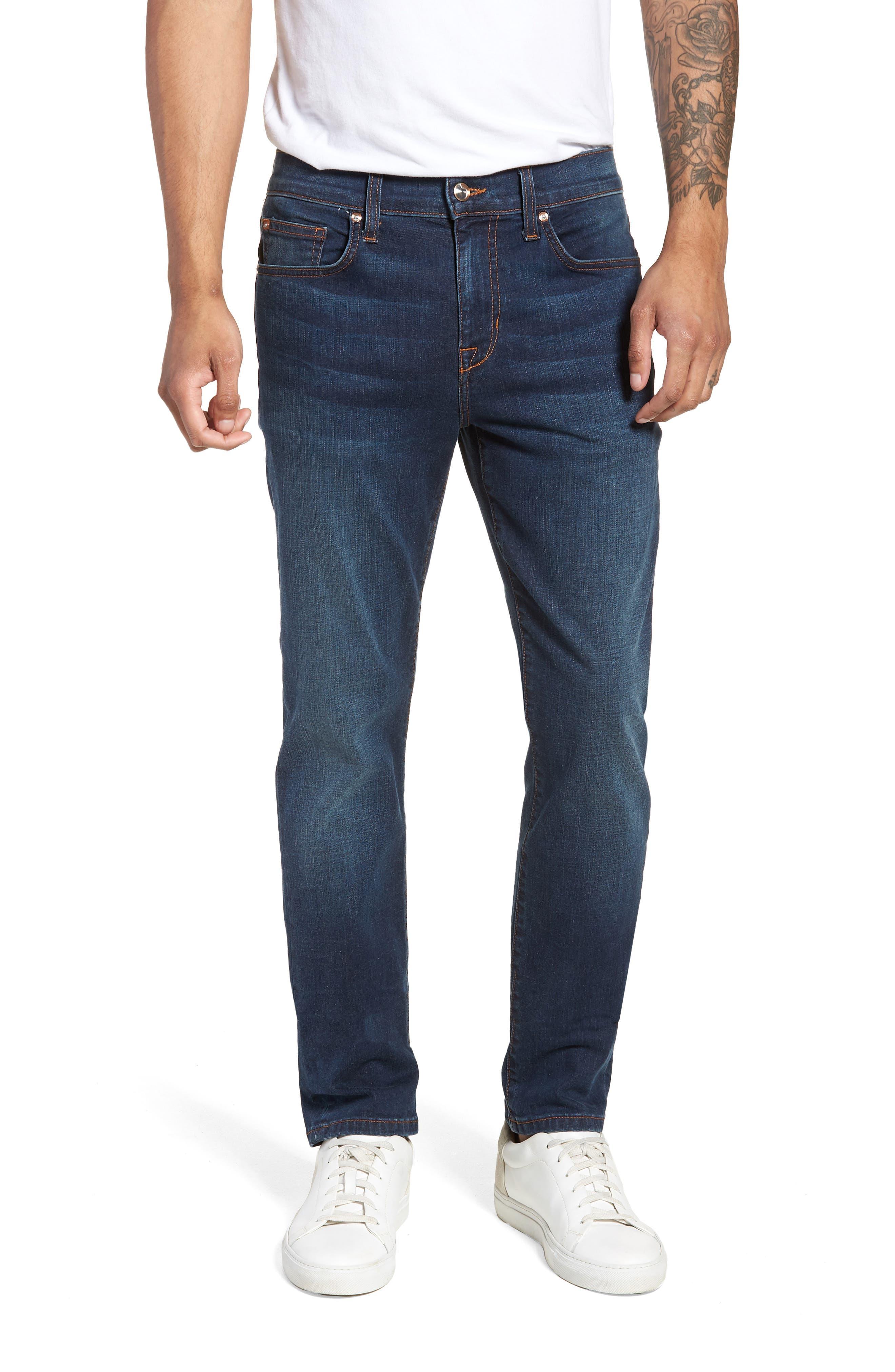 Slim Fit Jeans,                         Main,                         color, Brett