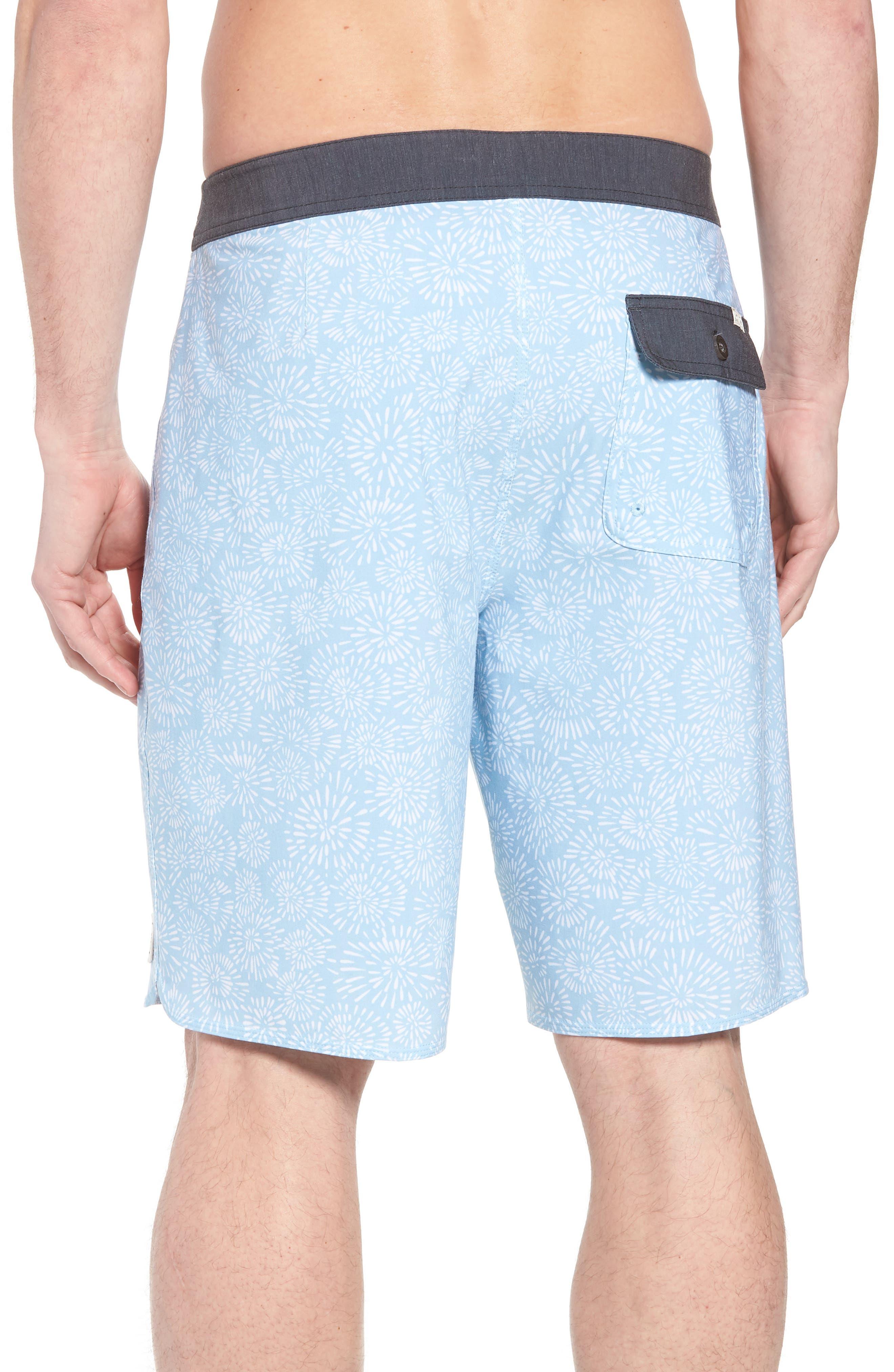 Waterfront Board Shorts,                             Alternate thumbnail 2, color,                             Light Blue