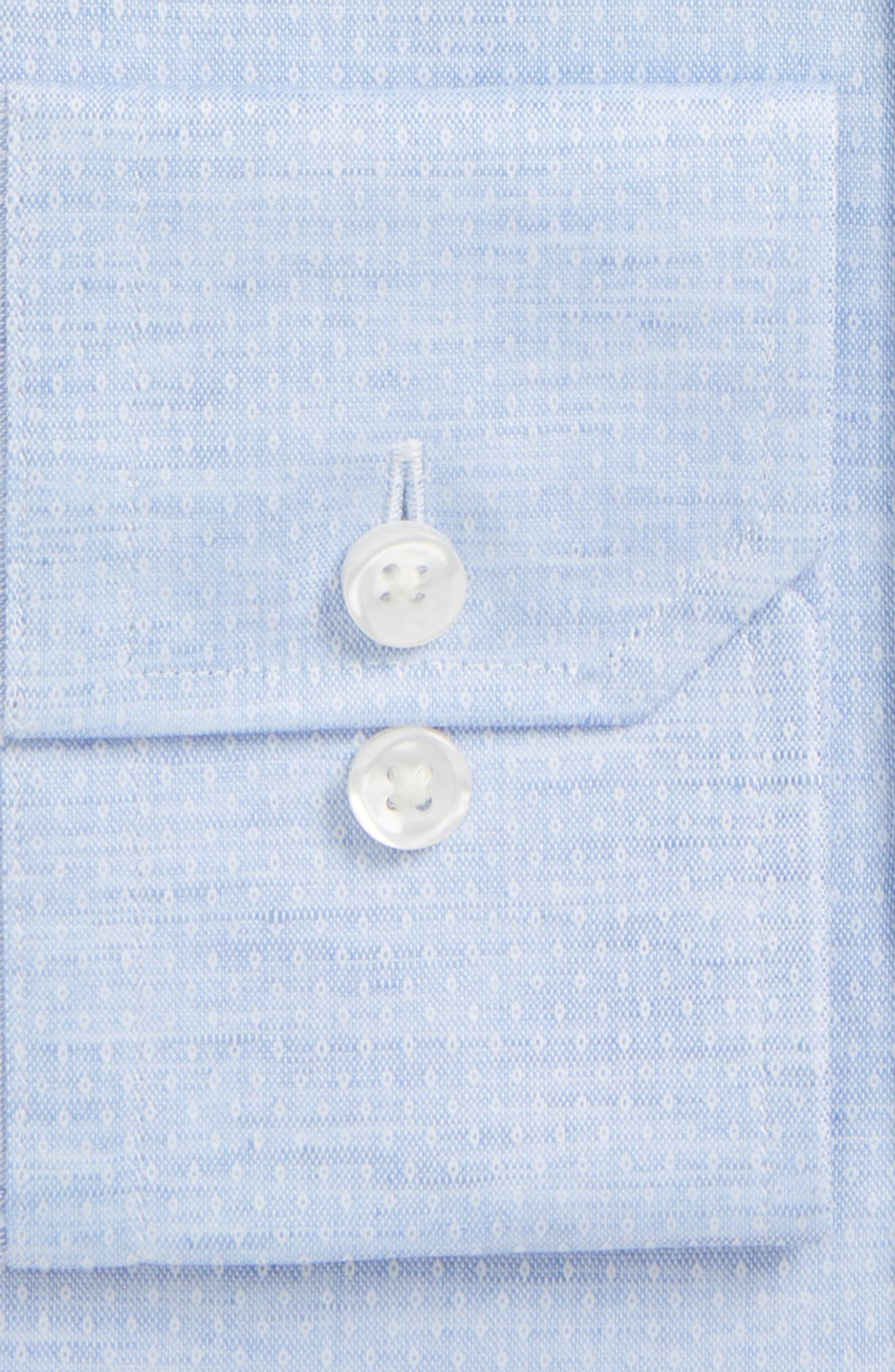 Alternate Image 2  - Strong Suit Espirit Trim Fit Dot Dress Shirt