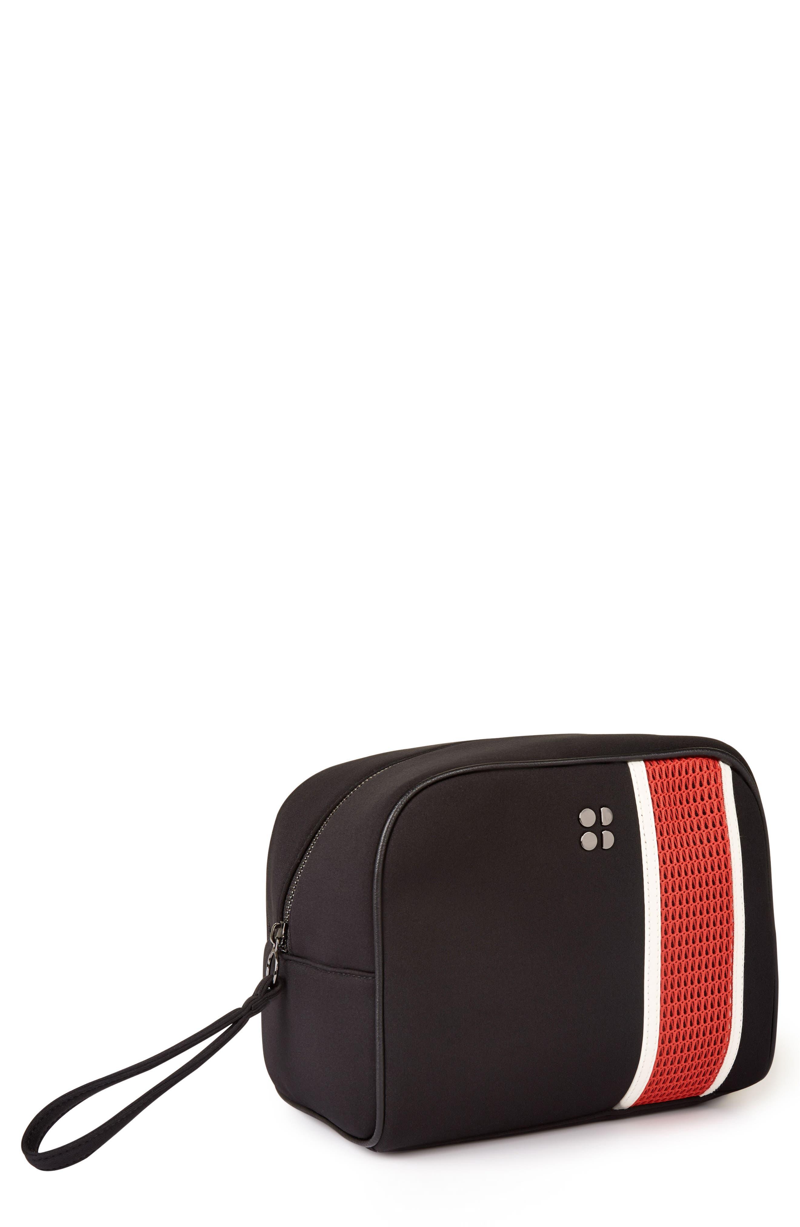 Wash Bag,                         Main,                         color, Black