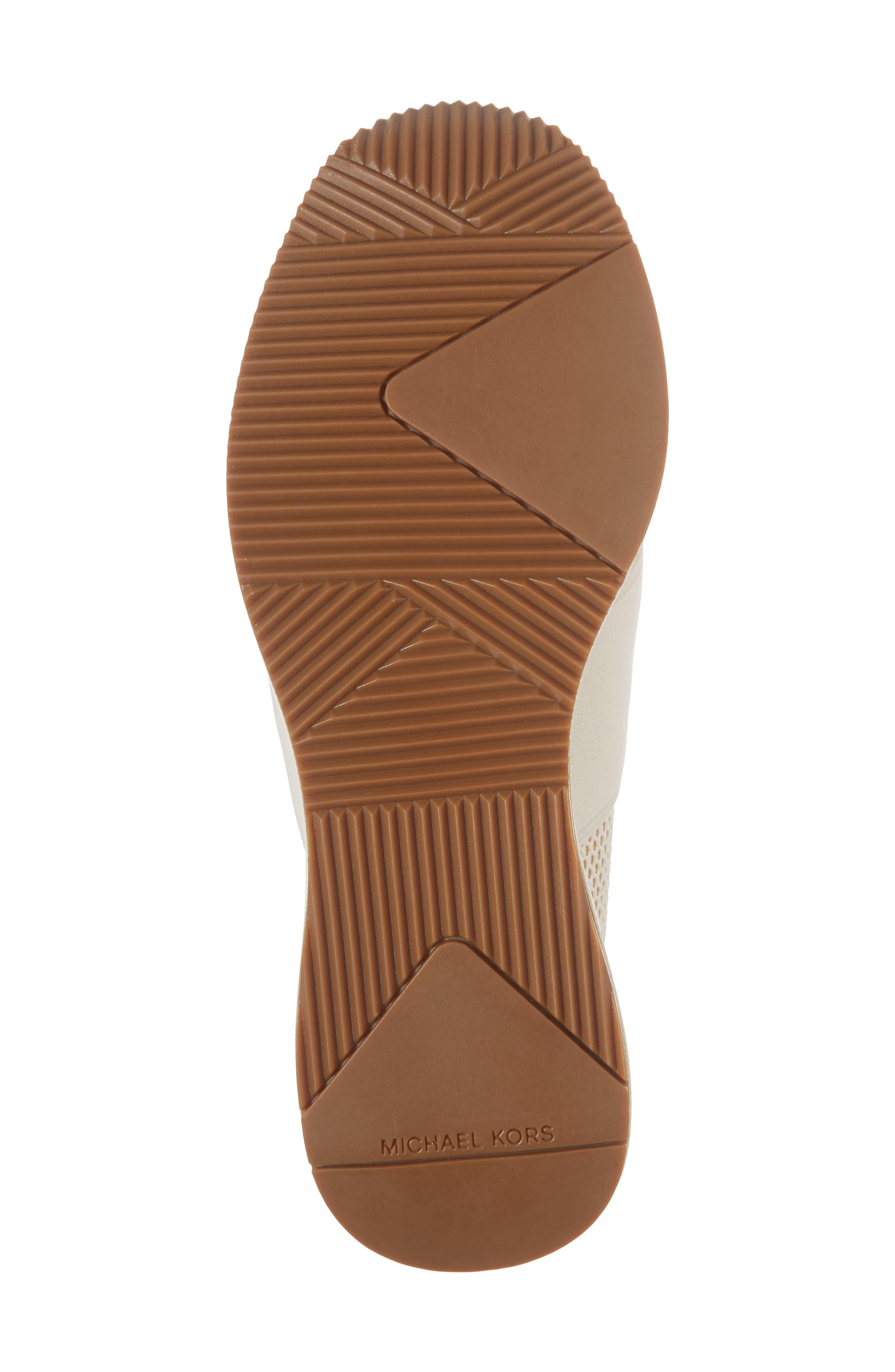 Felix Slip-On Glitter Sneaker,                             Alternate thumbnail 6, color,                             Gold