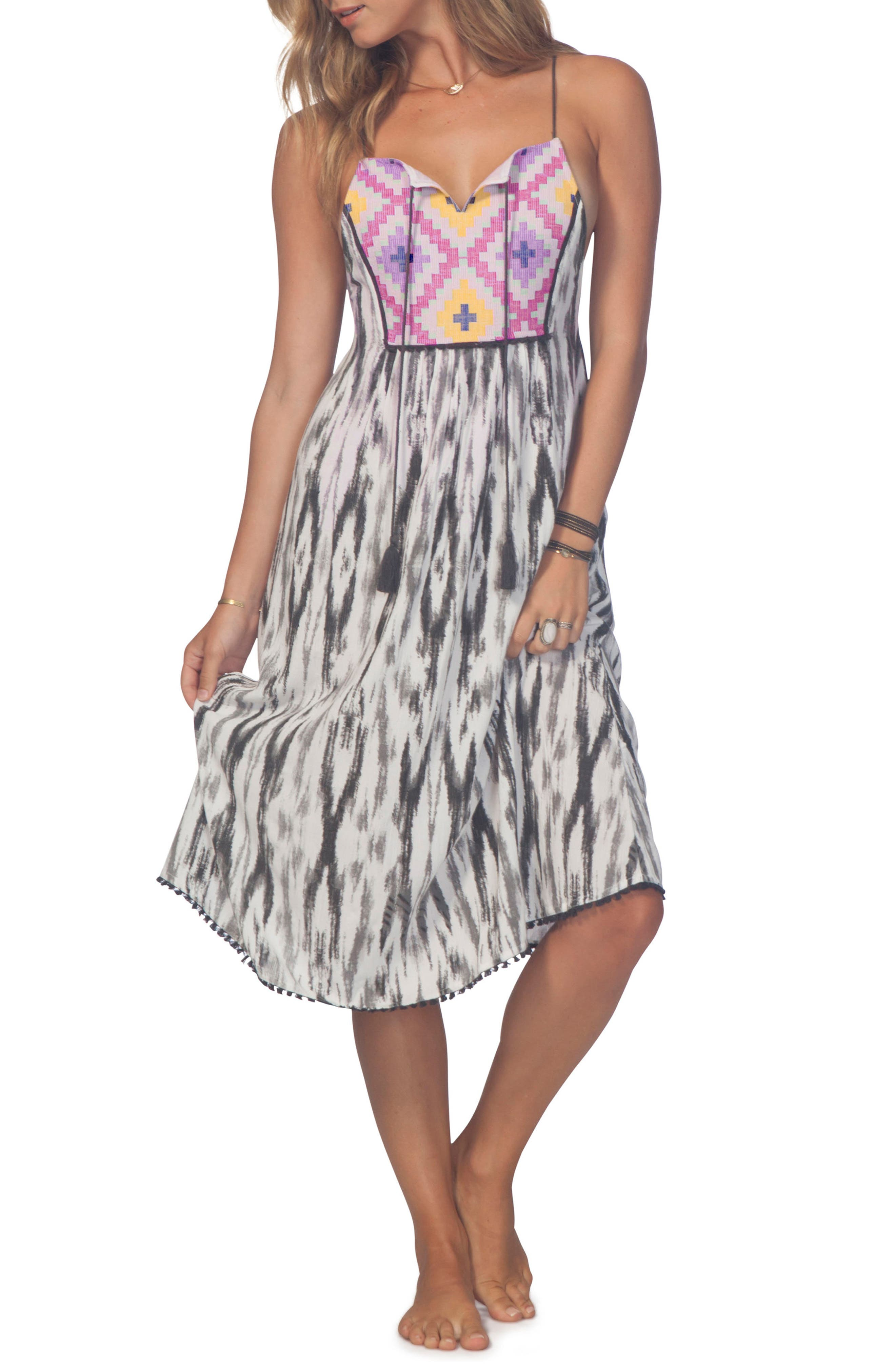 Wind Song Dress,                         Main,                         color, White