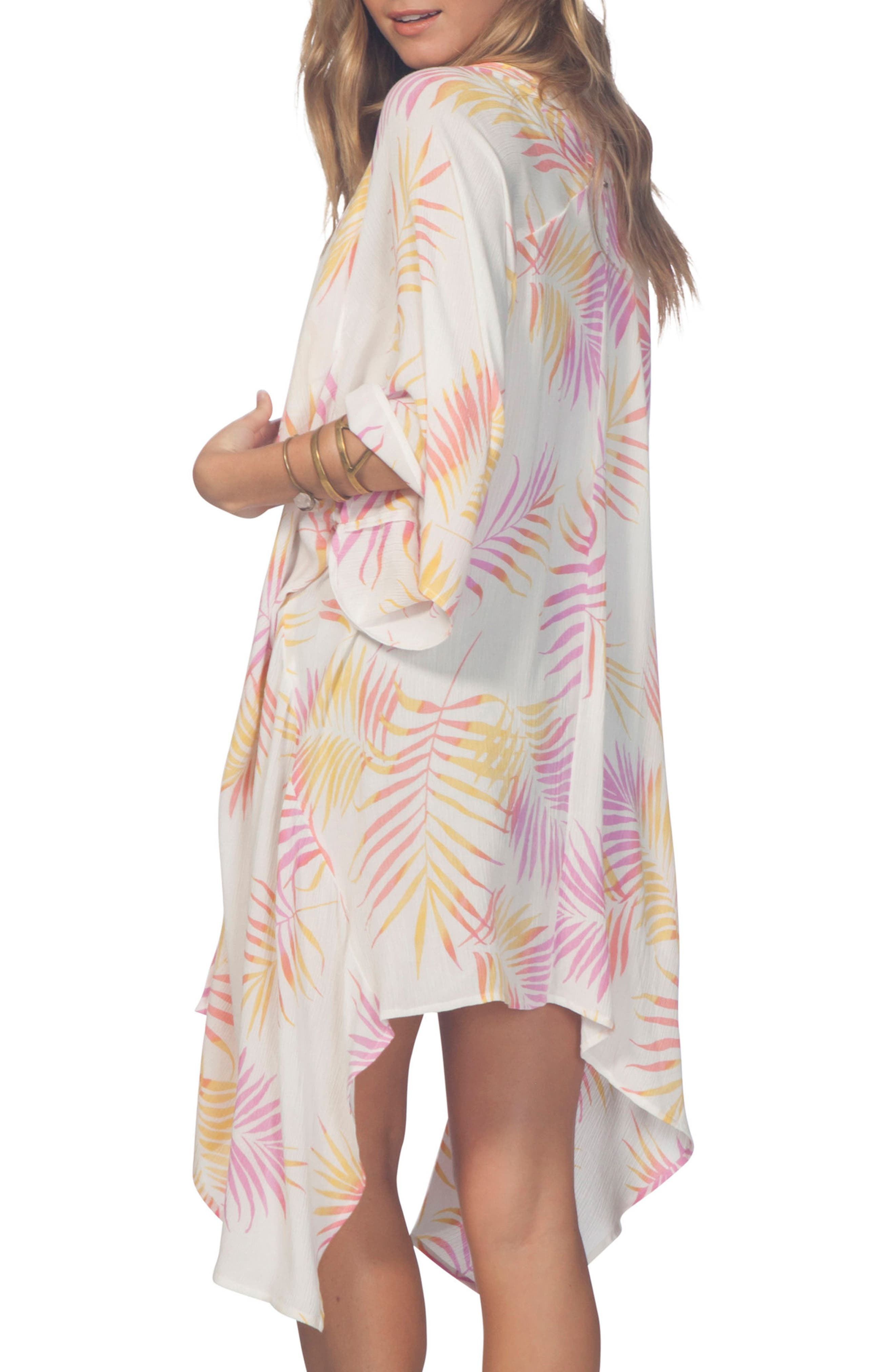 Palomino Kimono,                             Alternate thumbnail 2, color,                             Vanilla