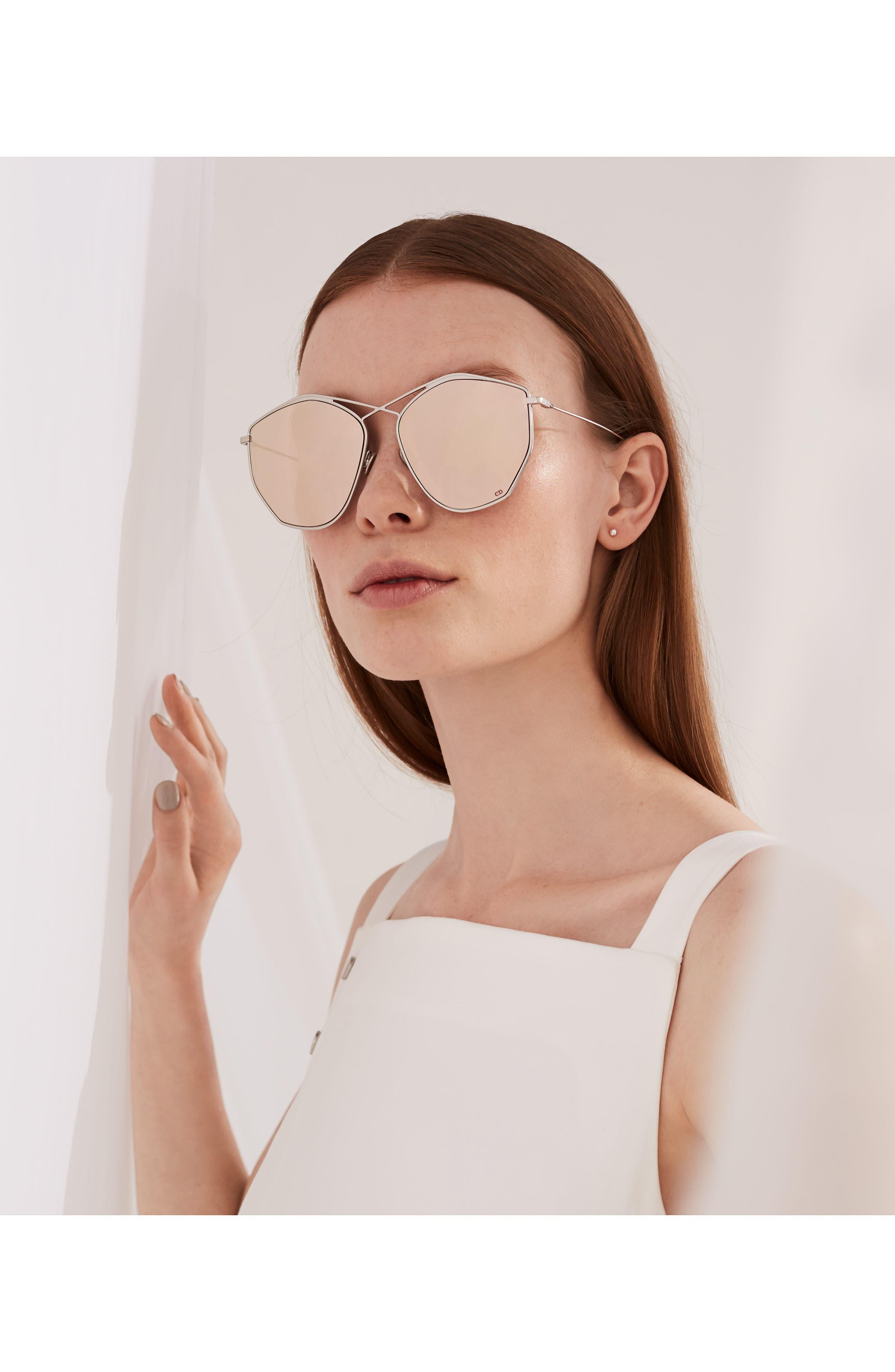 Alternate Image 4  - Dior 59mm Metal Sunglasses