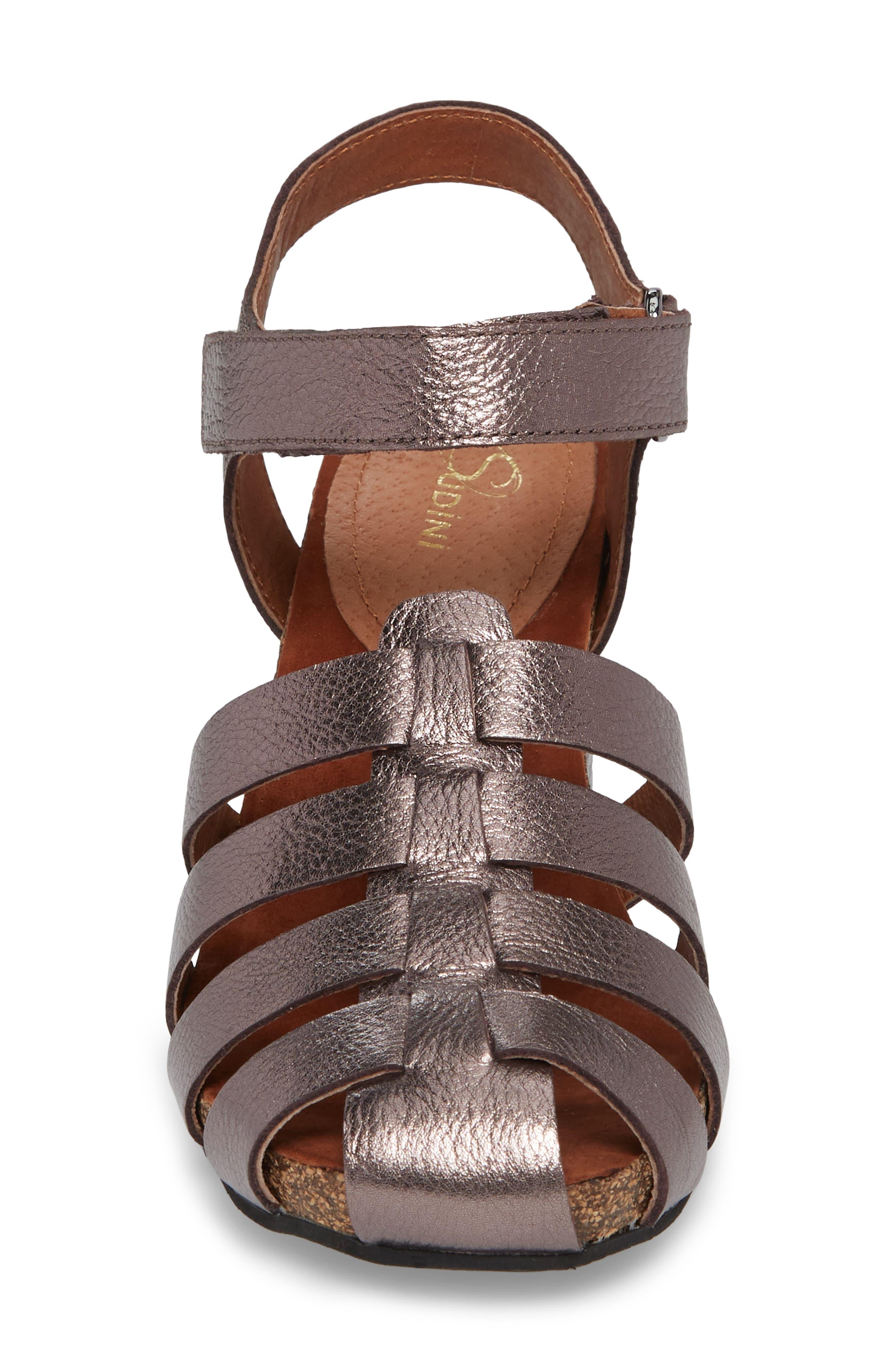 Alternate Image 4  - Sudini Carrara Block Heel Sandal (Women)