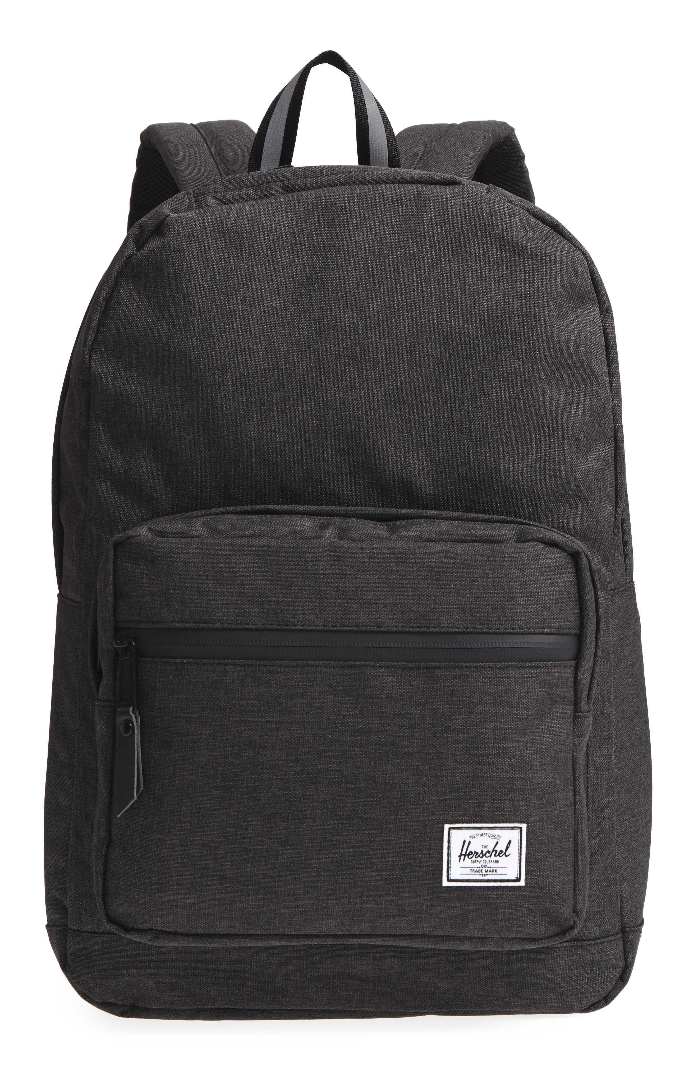 Pop Quiz - Reflective Backpack,                             Main thumbnail 1, color,                             Black Crosshatch/ Reflective