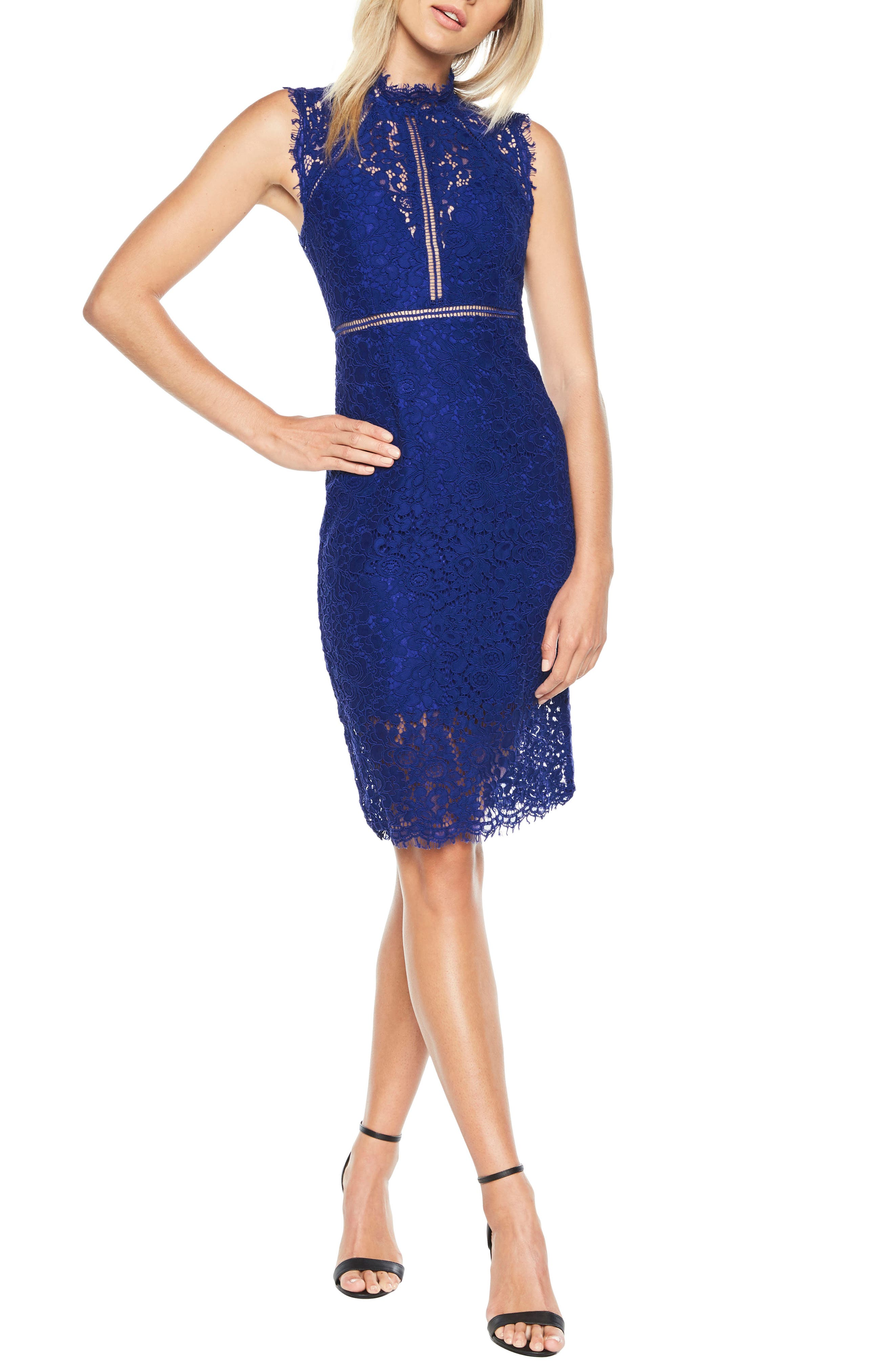 Alternate Image 1 Selected - Bardot Lace Sheath Dress