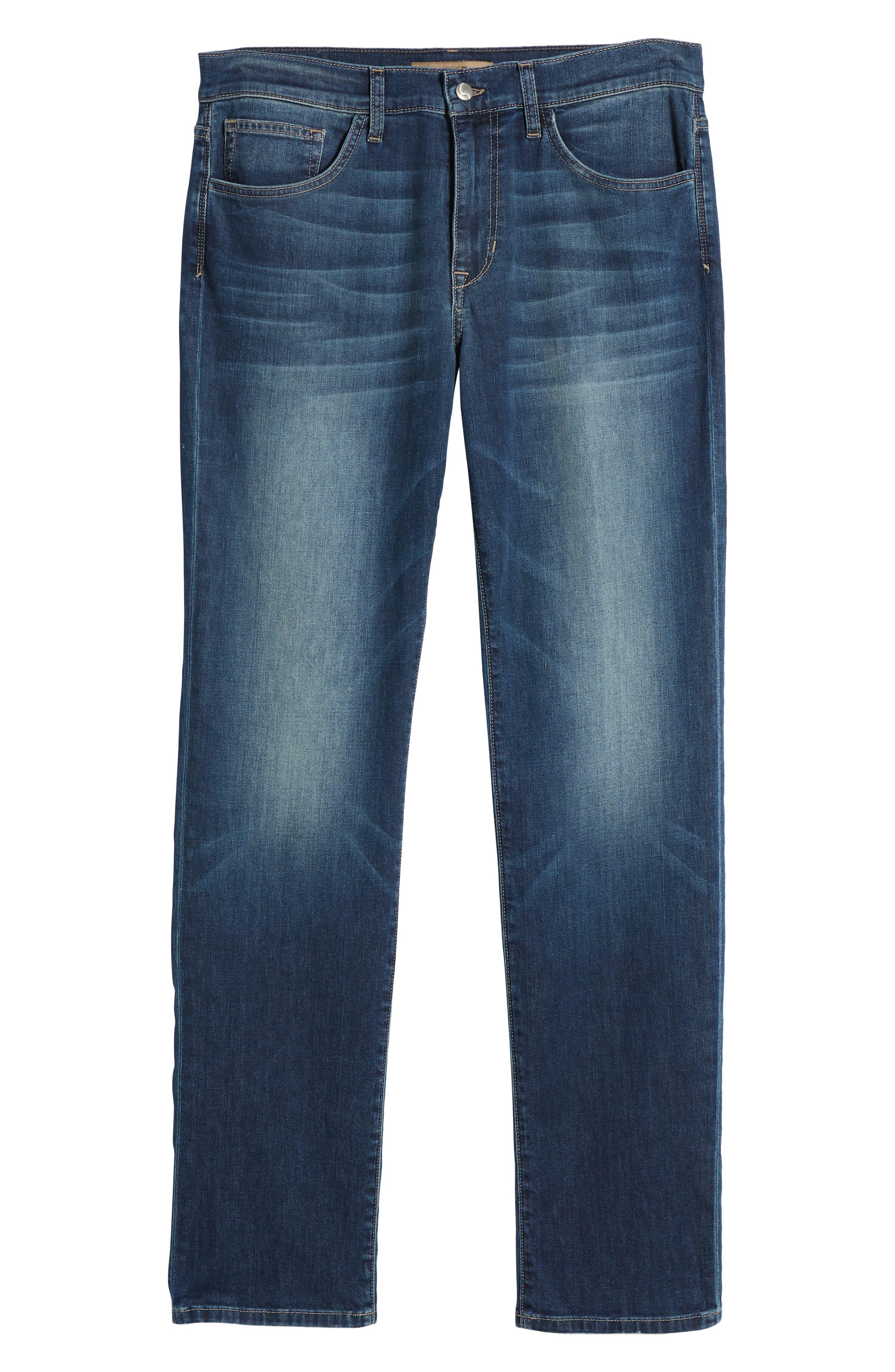 Brixton Slim Straight Fit Jeans,                             Alternate thumbnail 6, color,                             Brady