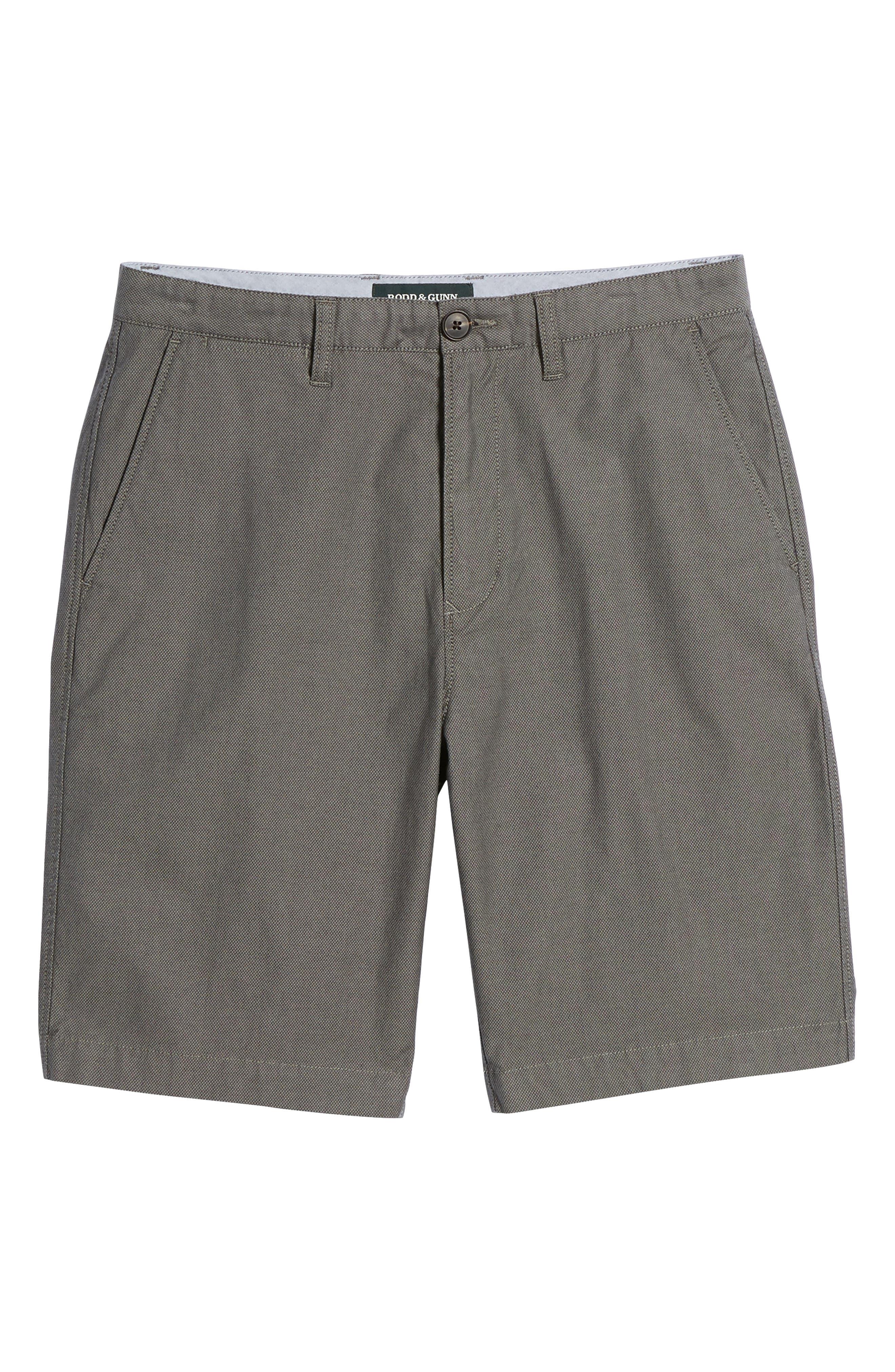 Army Bay Regular Fit Shorts,                             Alternate thumbnail 6, color,                             Granite