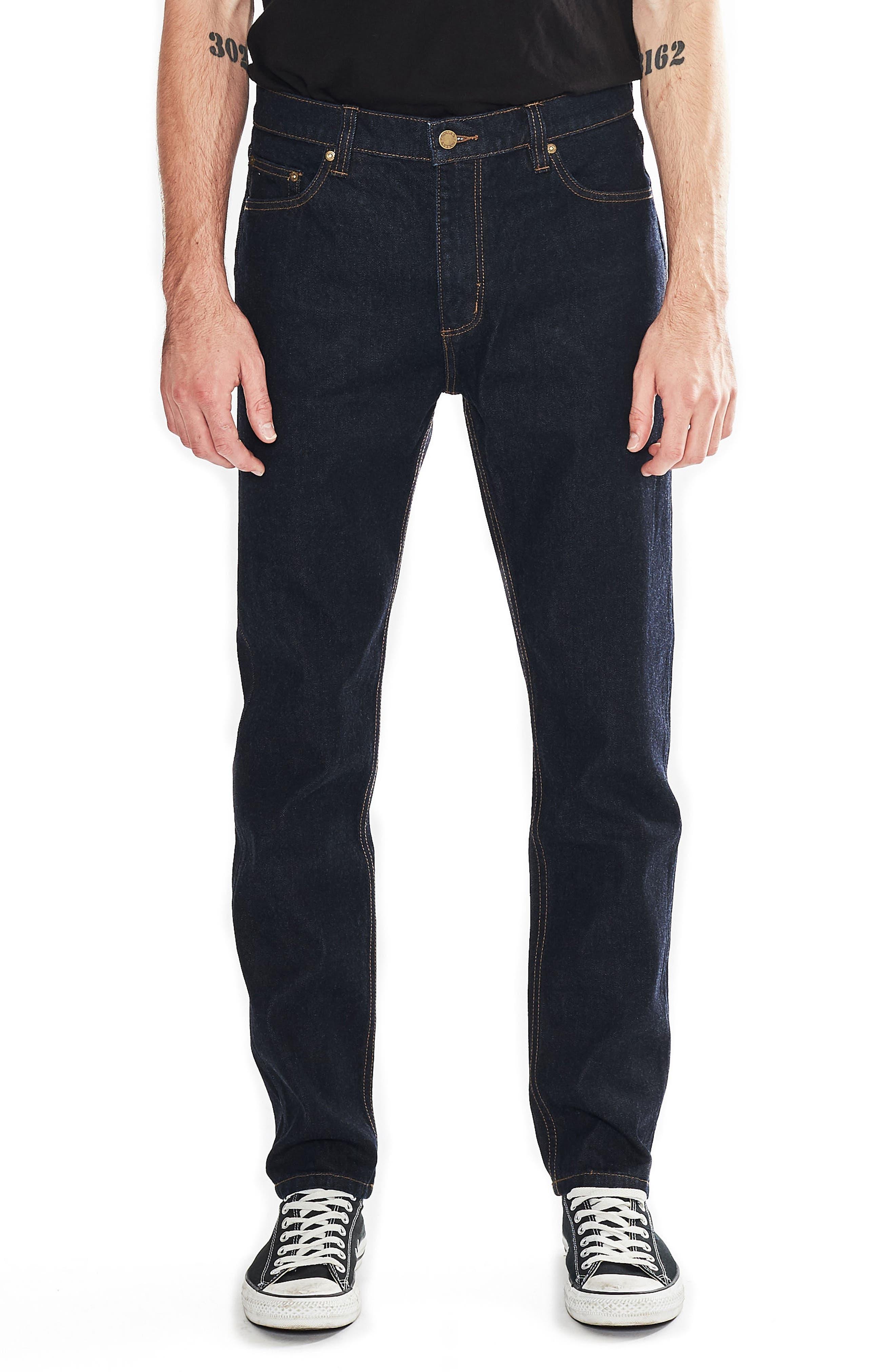 Tim Slims Slim Fit Jeans,                         Main,                         color, Indigo Raw