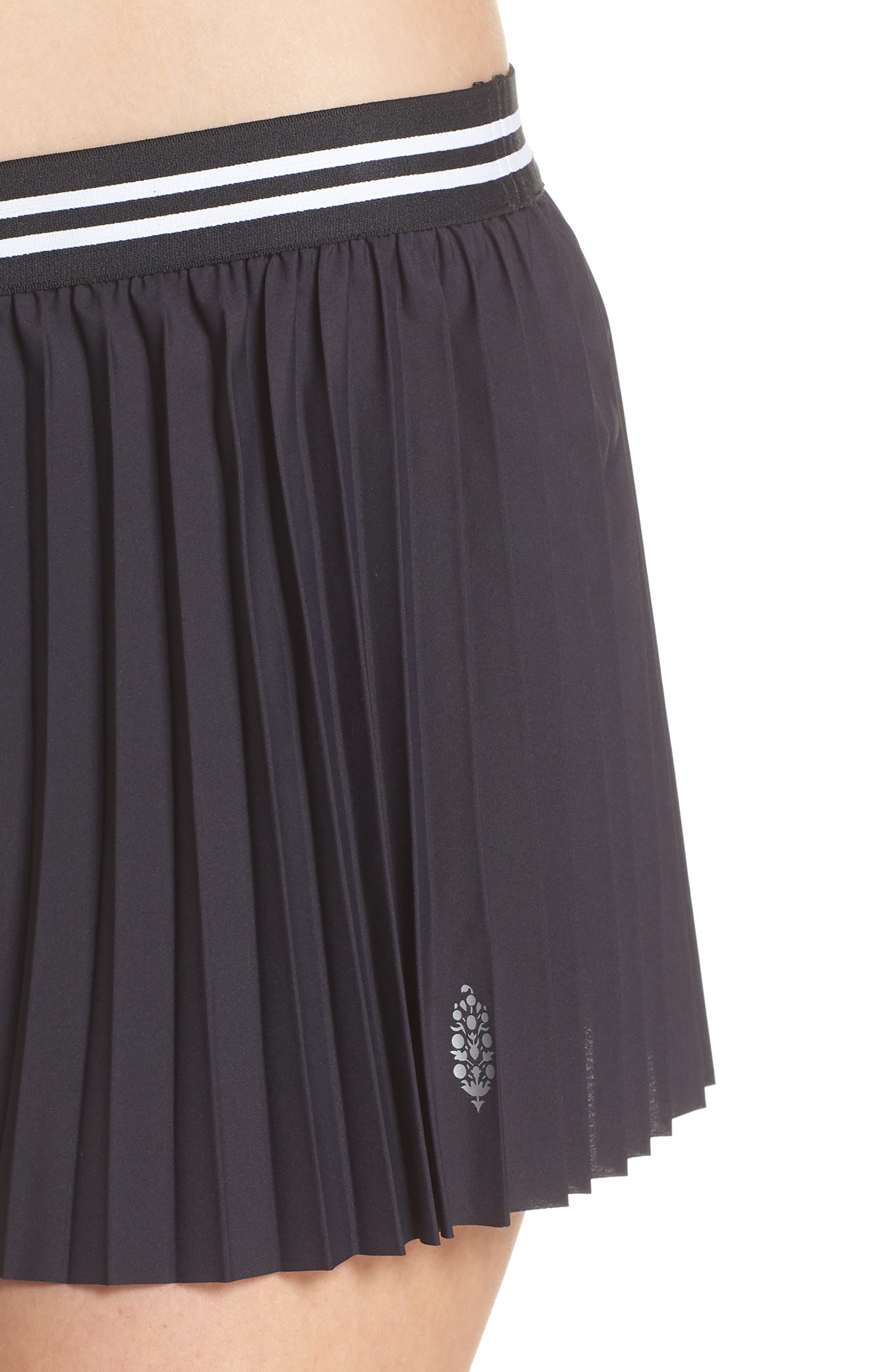 Free People Zephyr Shorts,                             Alternate thumbnail 4, color,                             Black