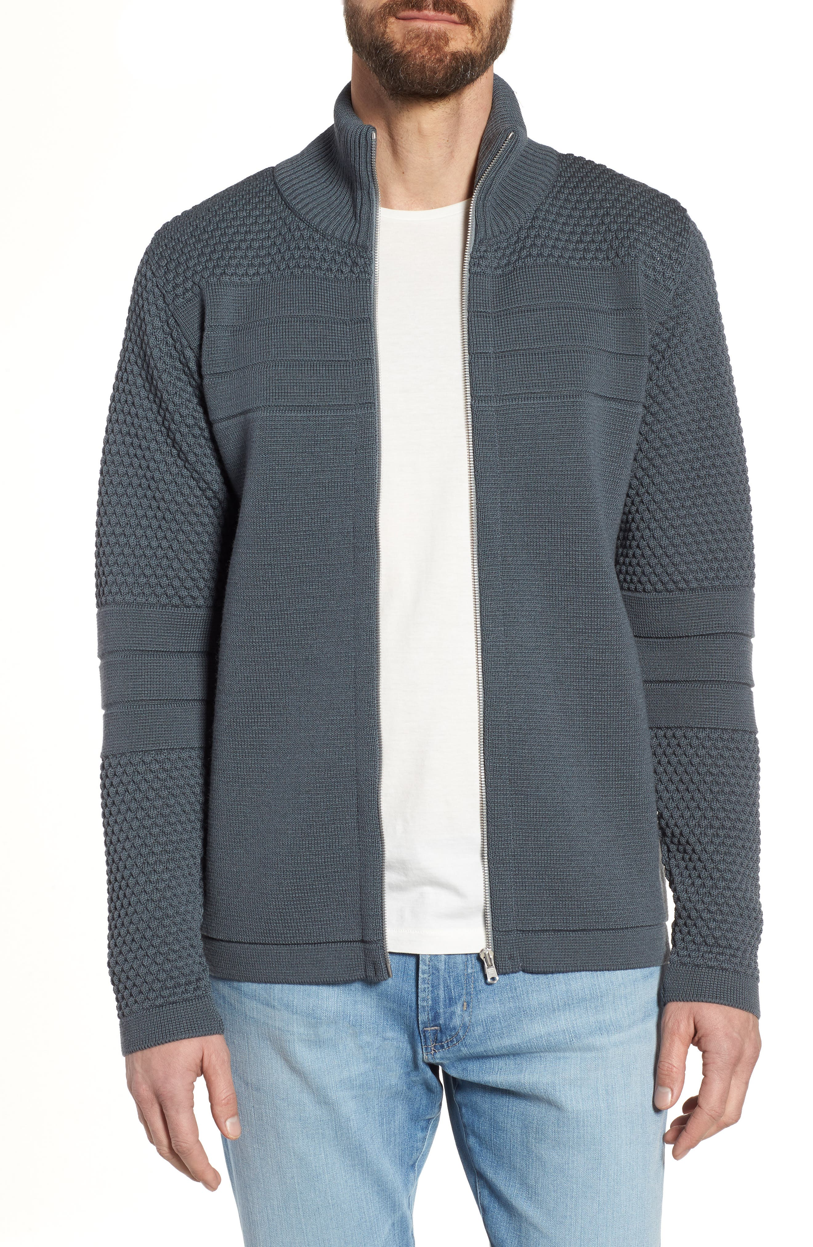 Torso Jacket,                             Main thumbnail 1, color,                             Uniform Grey