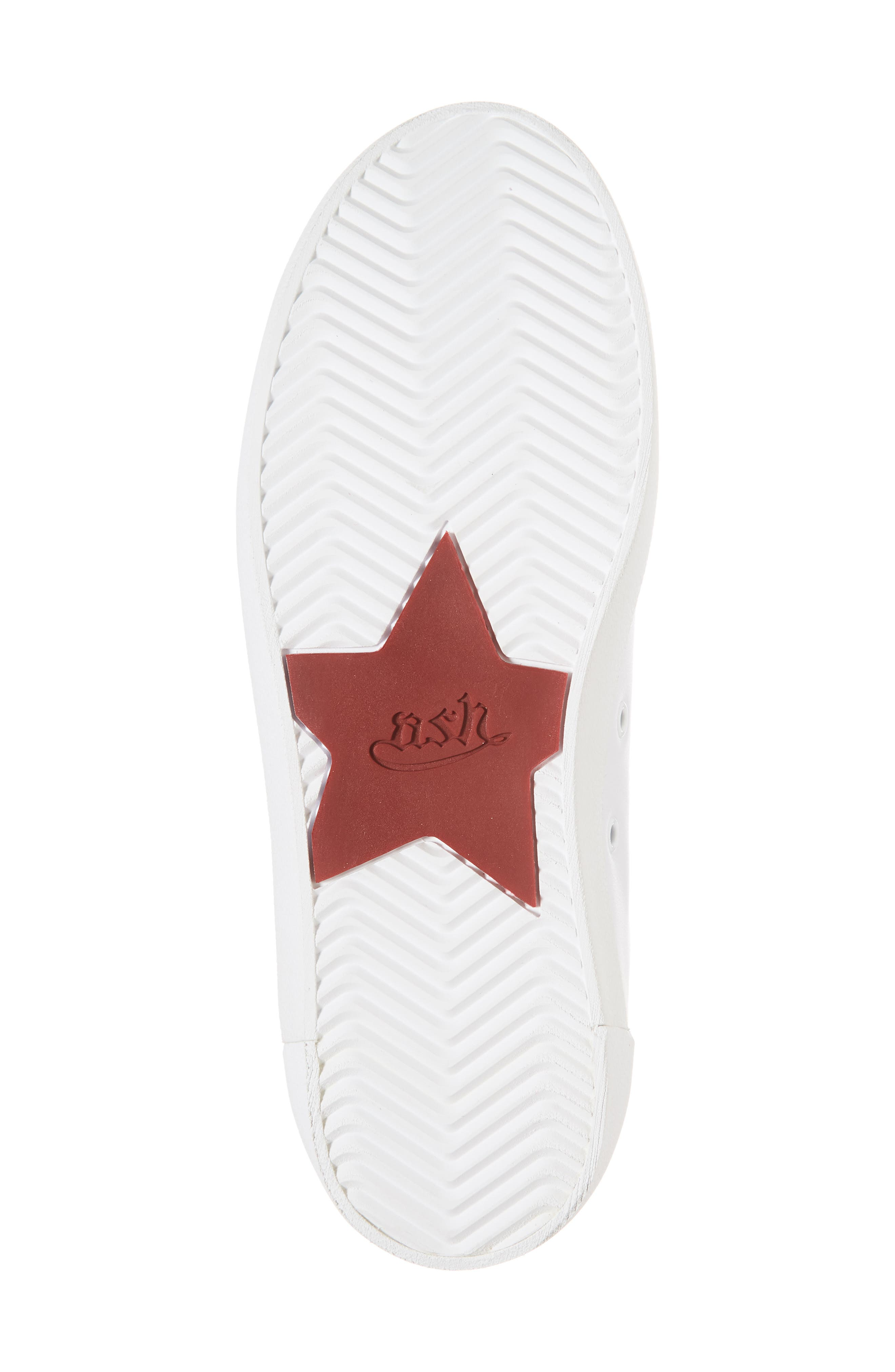 Nikita Sneaker,                             Alternate thumbnail 6, color,                             White/ Red