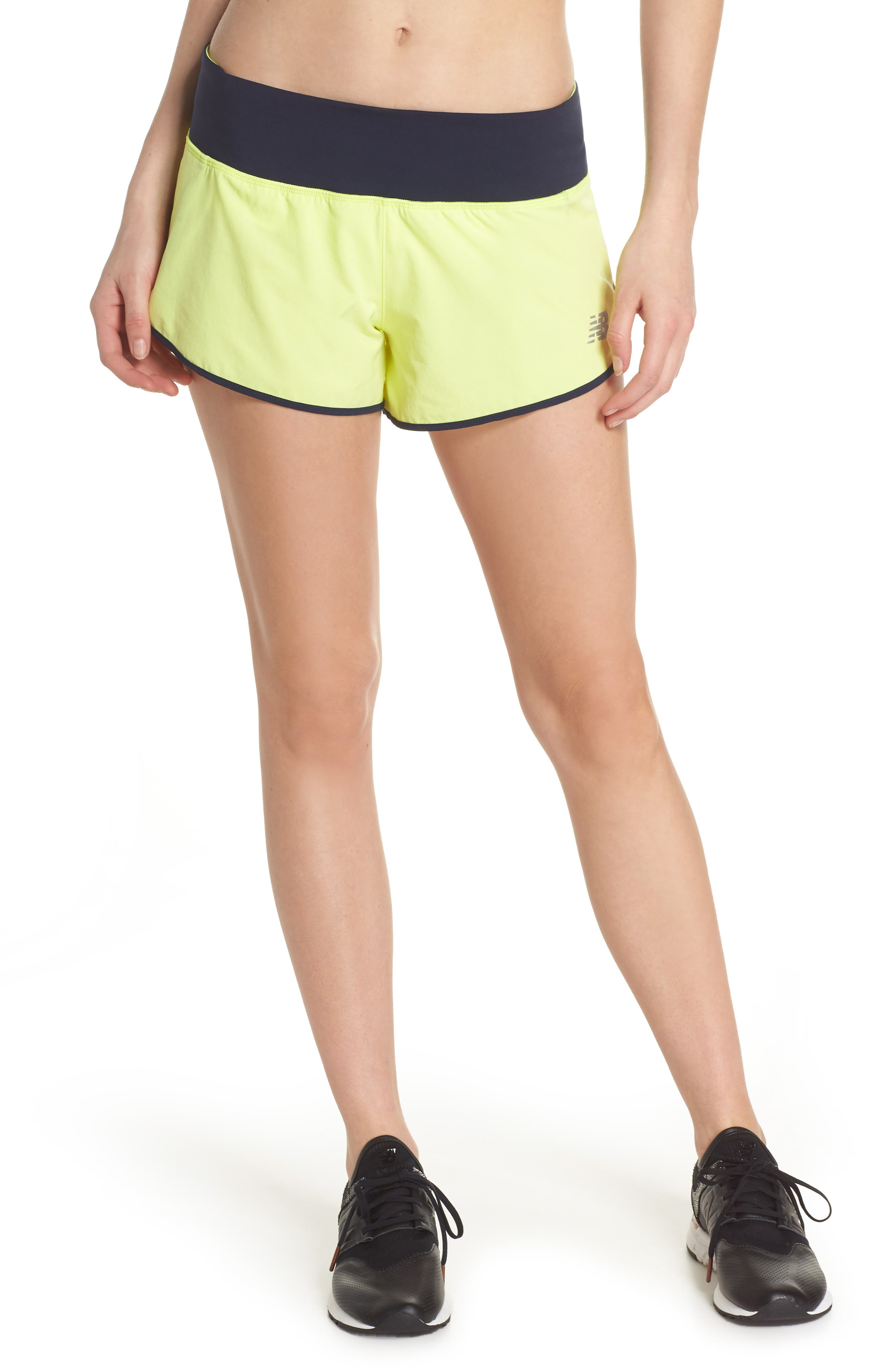 Impact 3 Shorts,                         Main,                         color, Solar Yellow