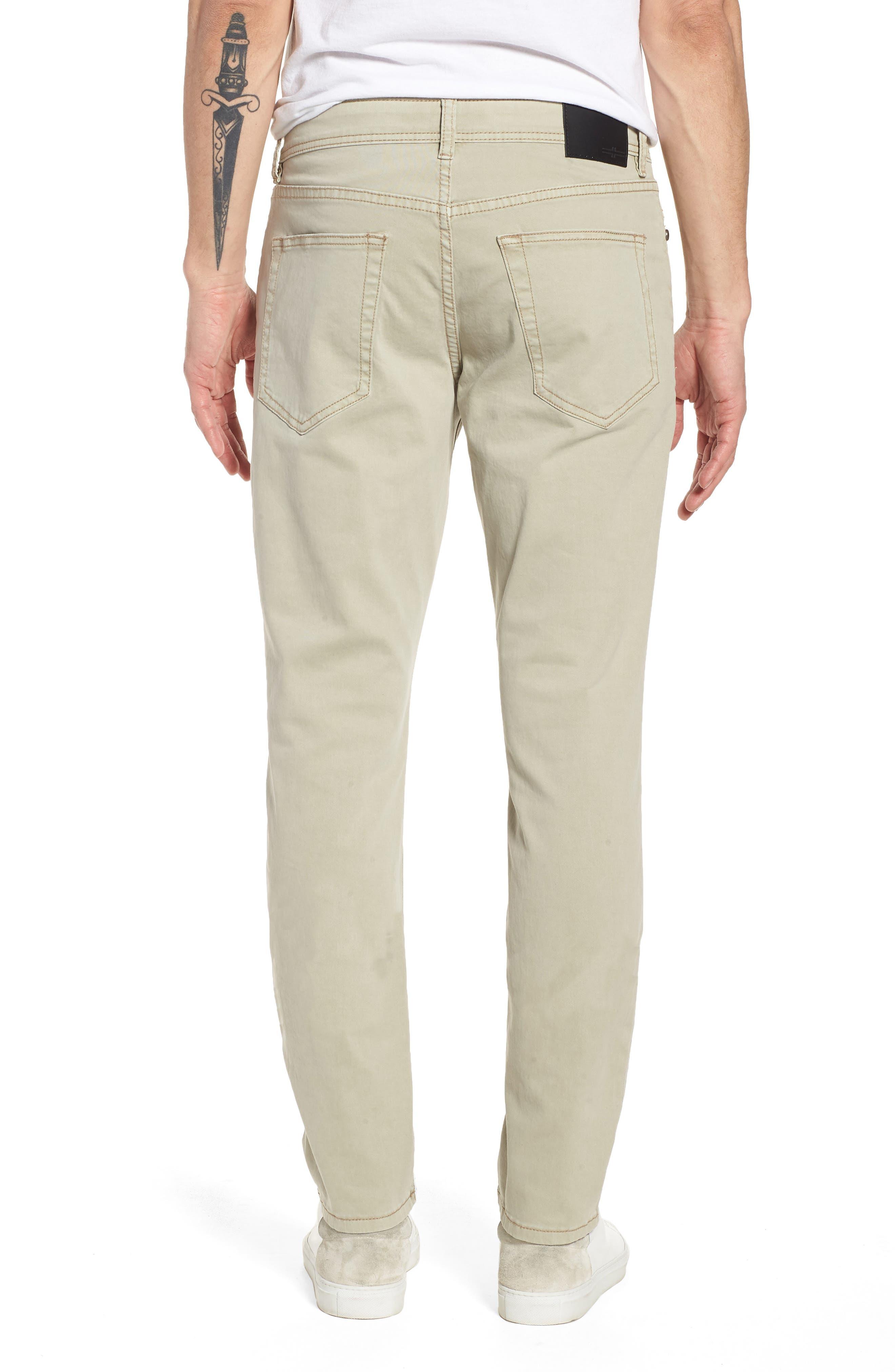 Jeans Co. Slim Straight Leg Jeans,                             Alternate thumbnail 2, color,                             Sandstrom