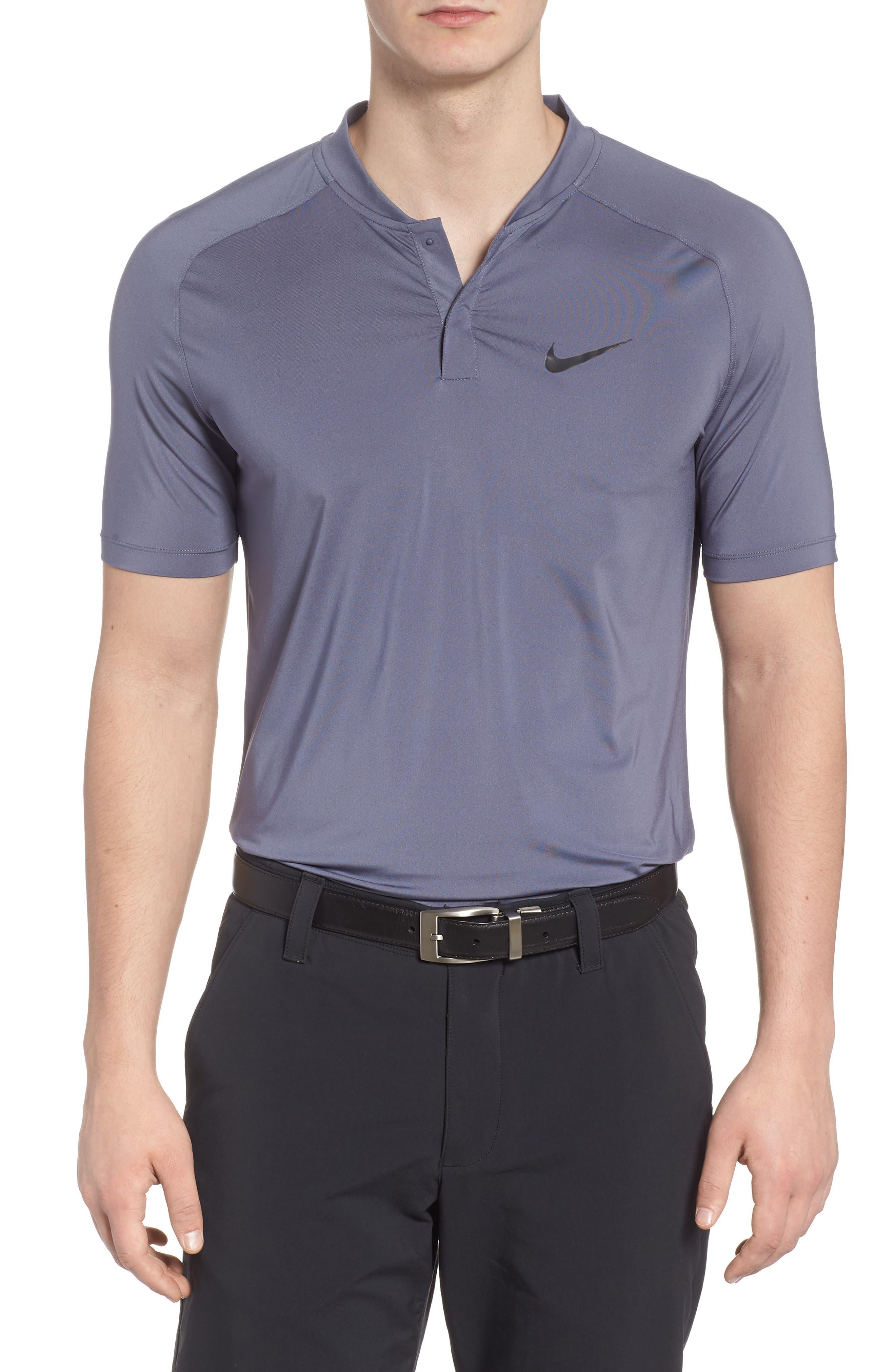 Dry Dynamic Slim Fit Polo,                         Main,                         color, Light Carbon/ Black