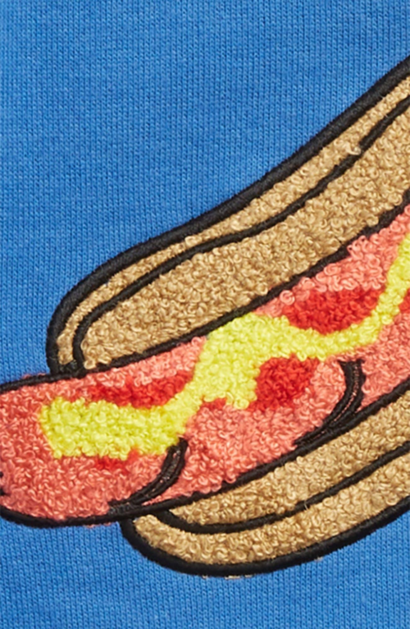 Whoa Sweatshirt,                             Alternate thumbnail 2, color,                             Blue