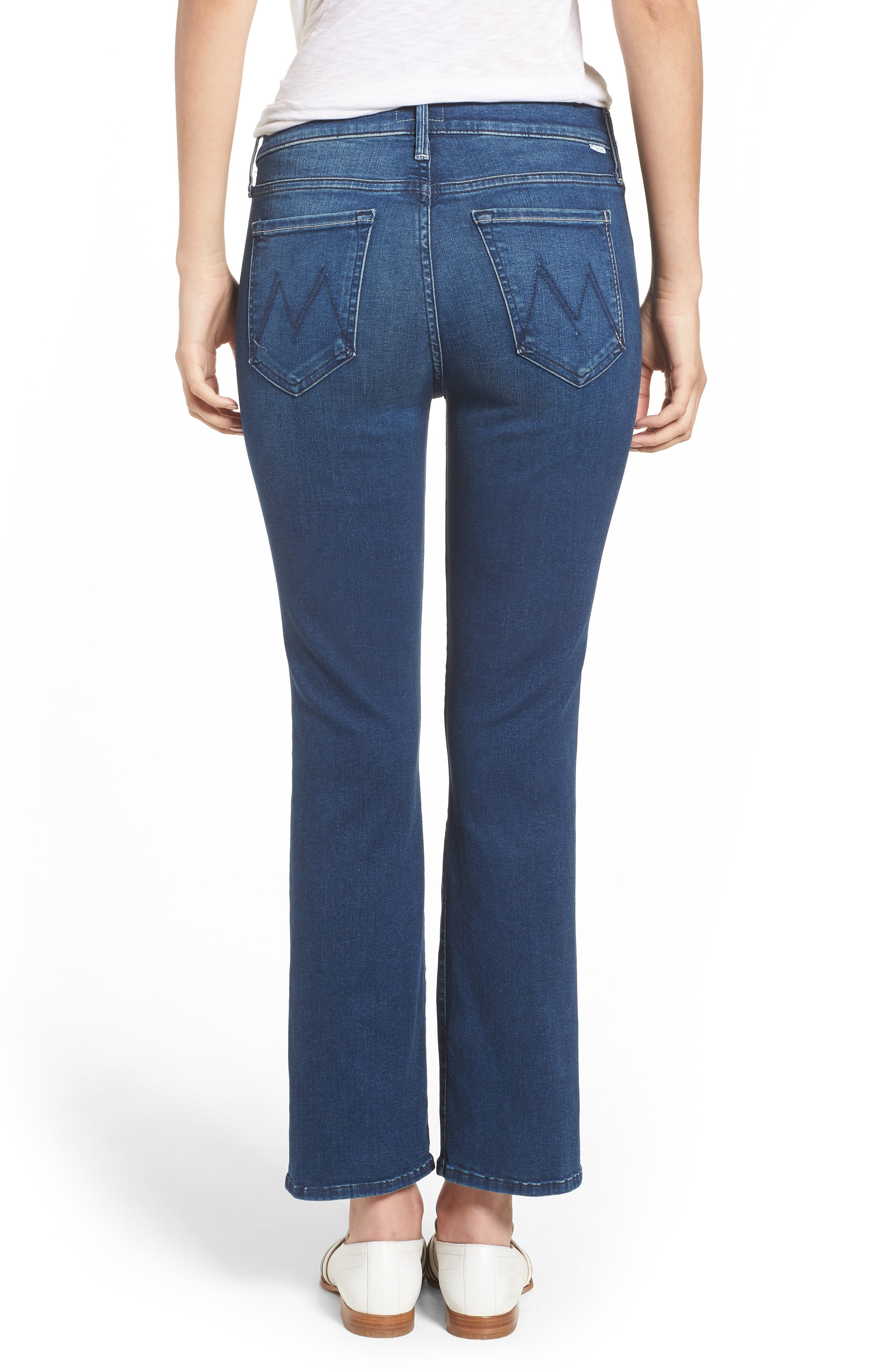 The Outsider Crop Bootcut Jeans,                             Alternate thumbnail 2, color,                             Fast Times