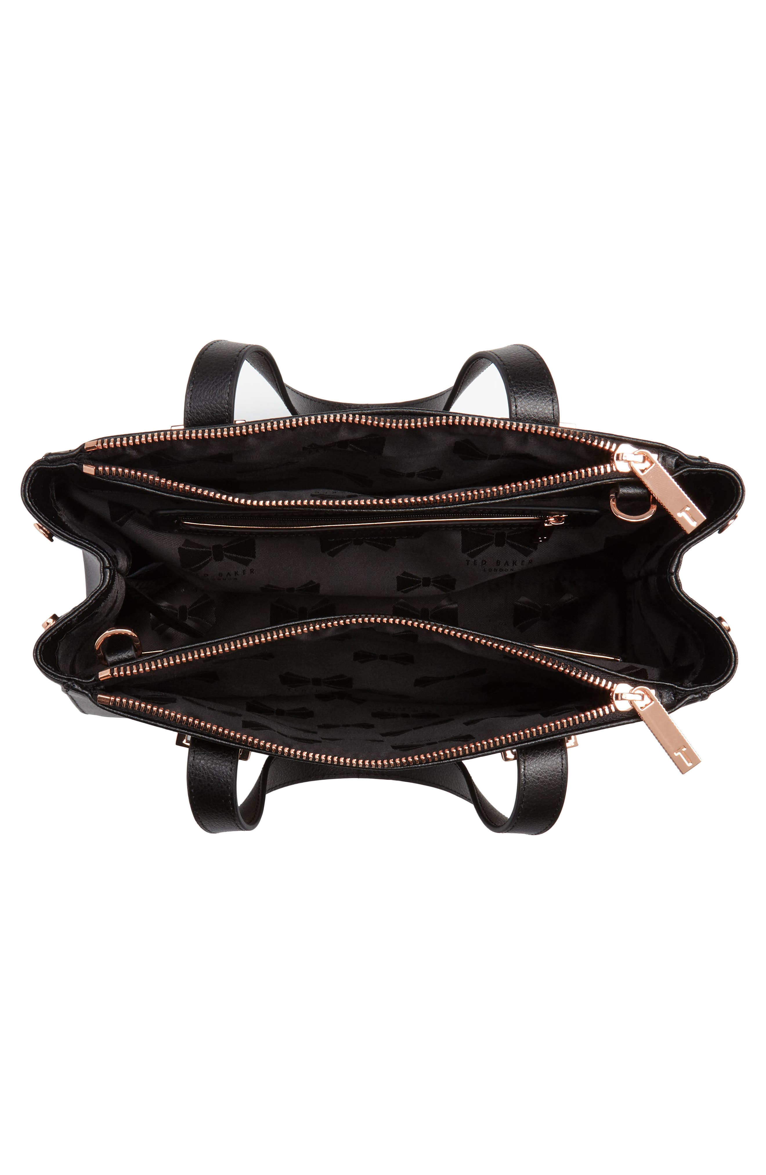 Alternate Image 4  - Ted Baker London Audreyy Small Adjustable Handle Leather Shopper