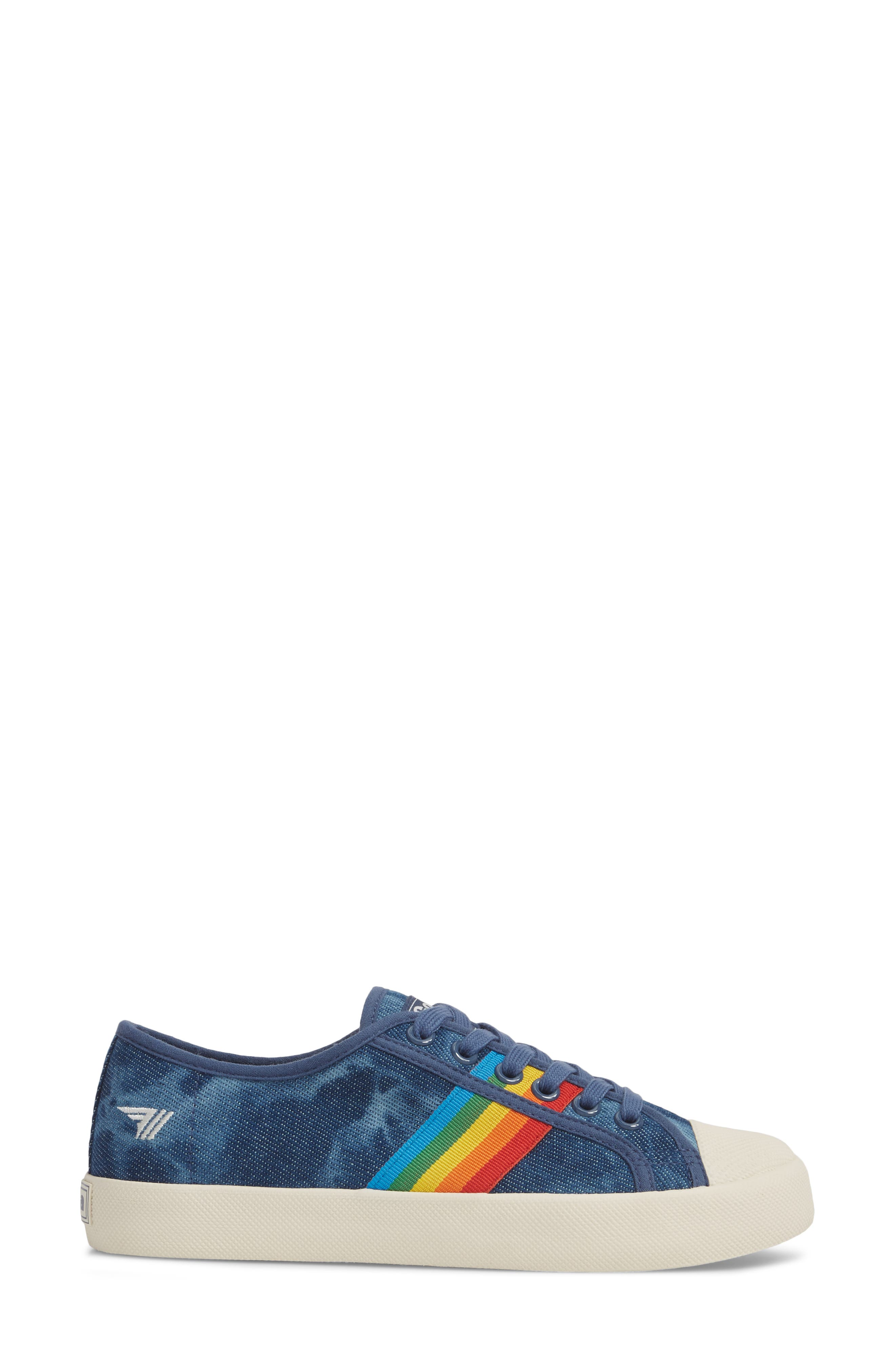 Alternate Image 3  - Gola Coaster Rainbow Striped Sneaker (Women)