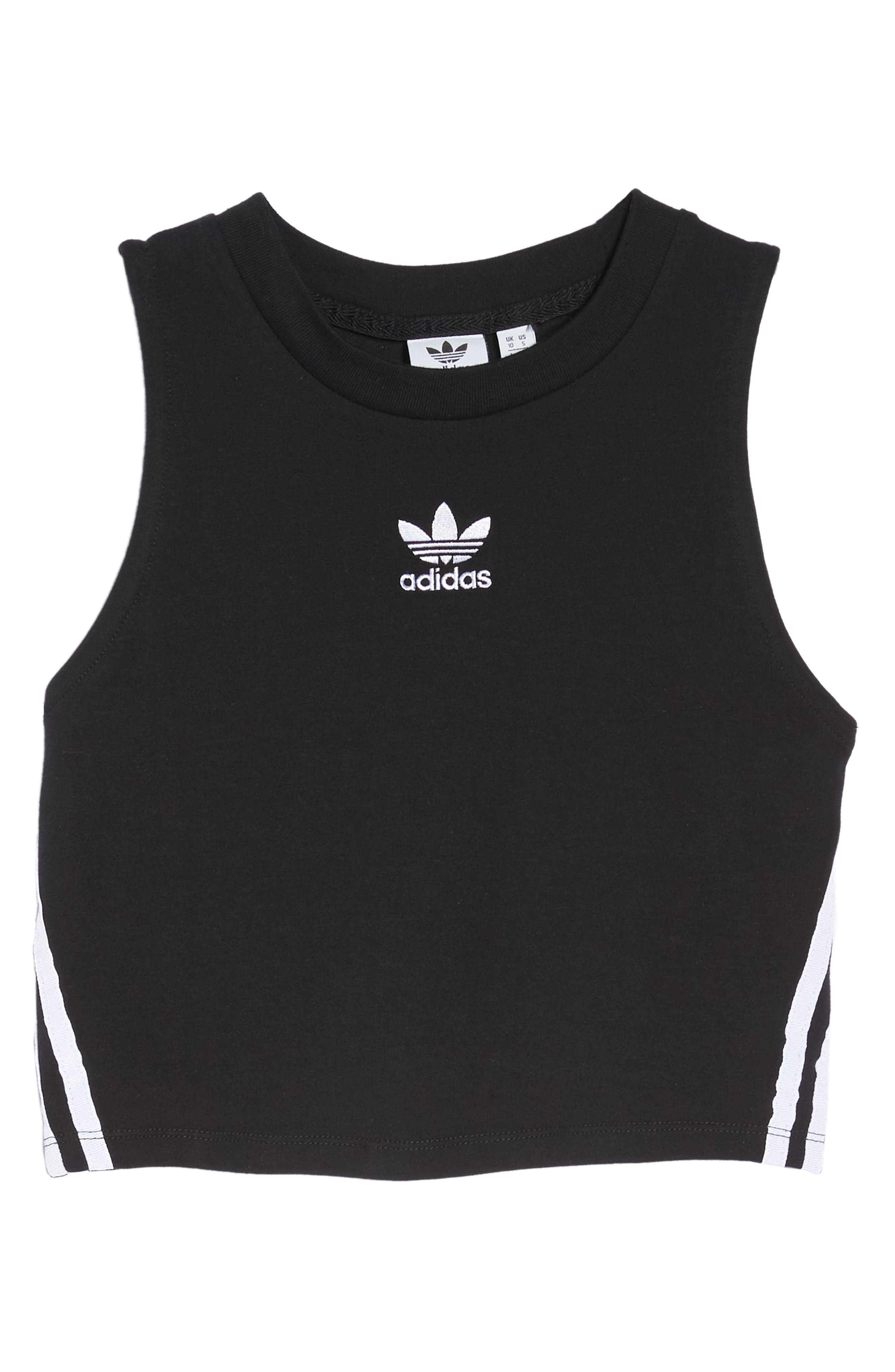 Originals Crop Tank,                             Alternate thumbnail 7, color,                             Black