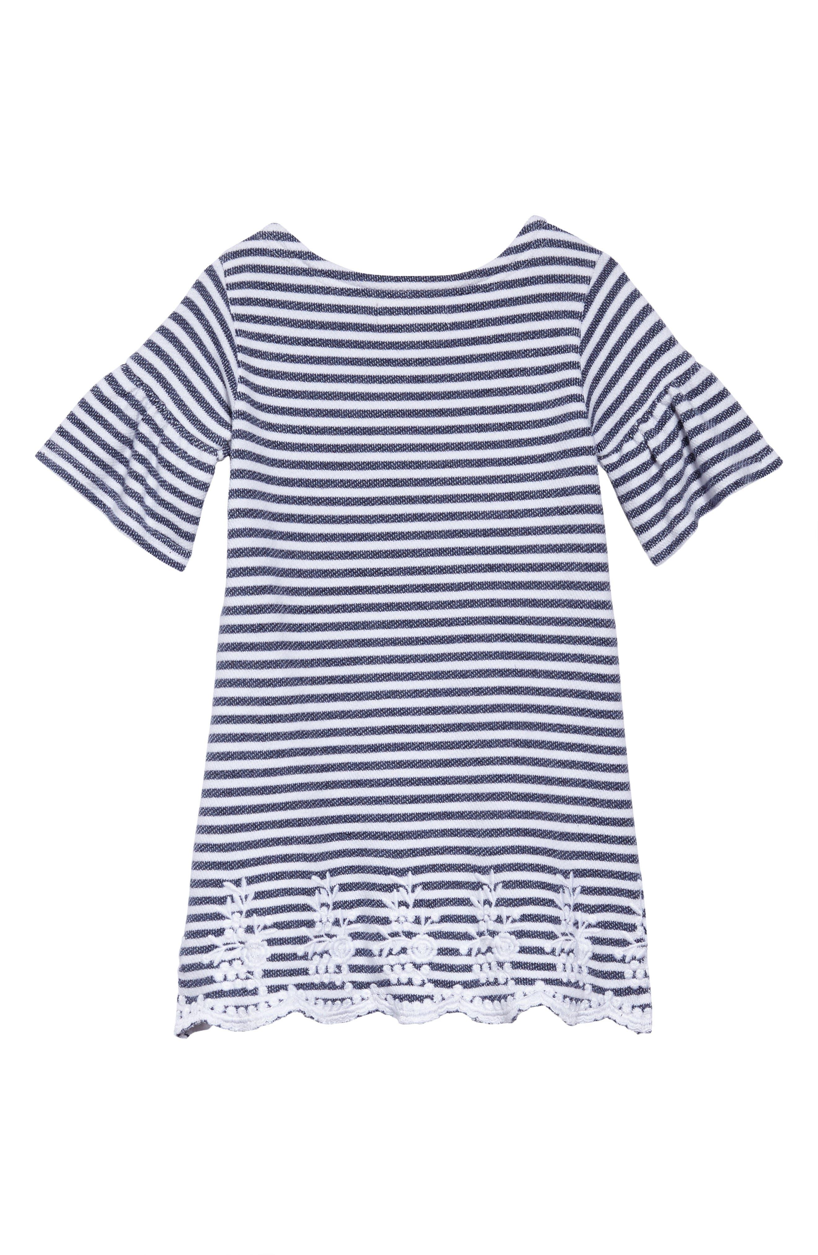 Brynne Stripe Dress,                             Alternate thumbnail 2, color,                             Blue