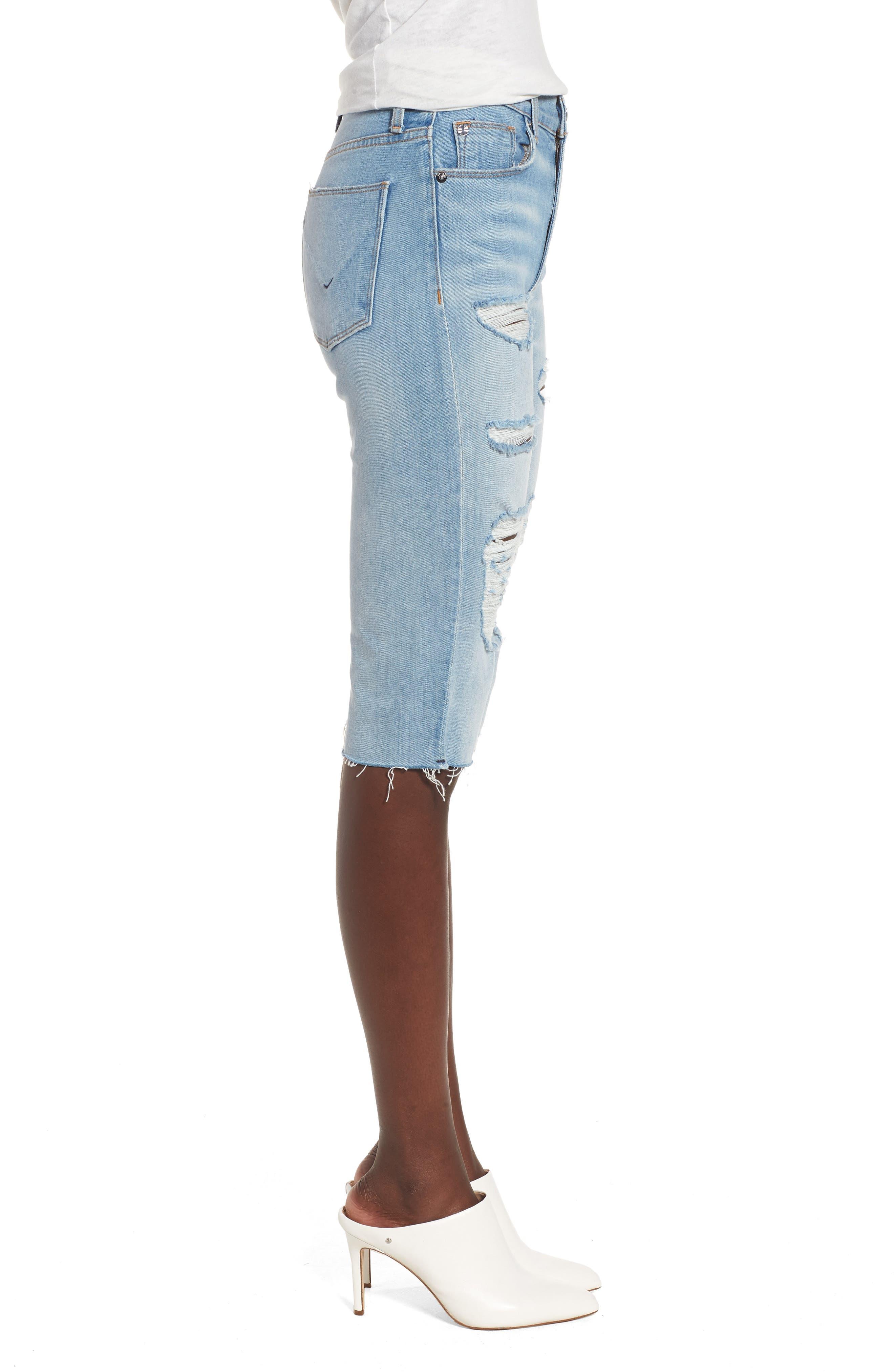 Alternate Image 3  - Hudson Jeans Zoeey High Waist Cutoff Boyfriend Shorts (Love St.)