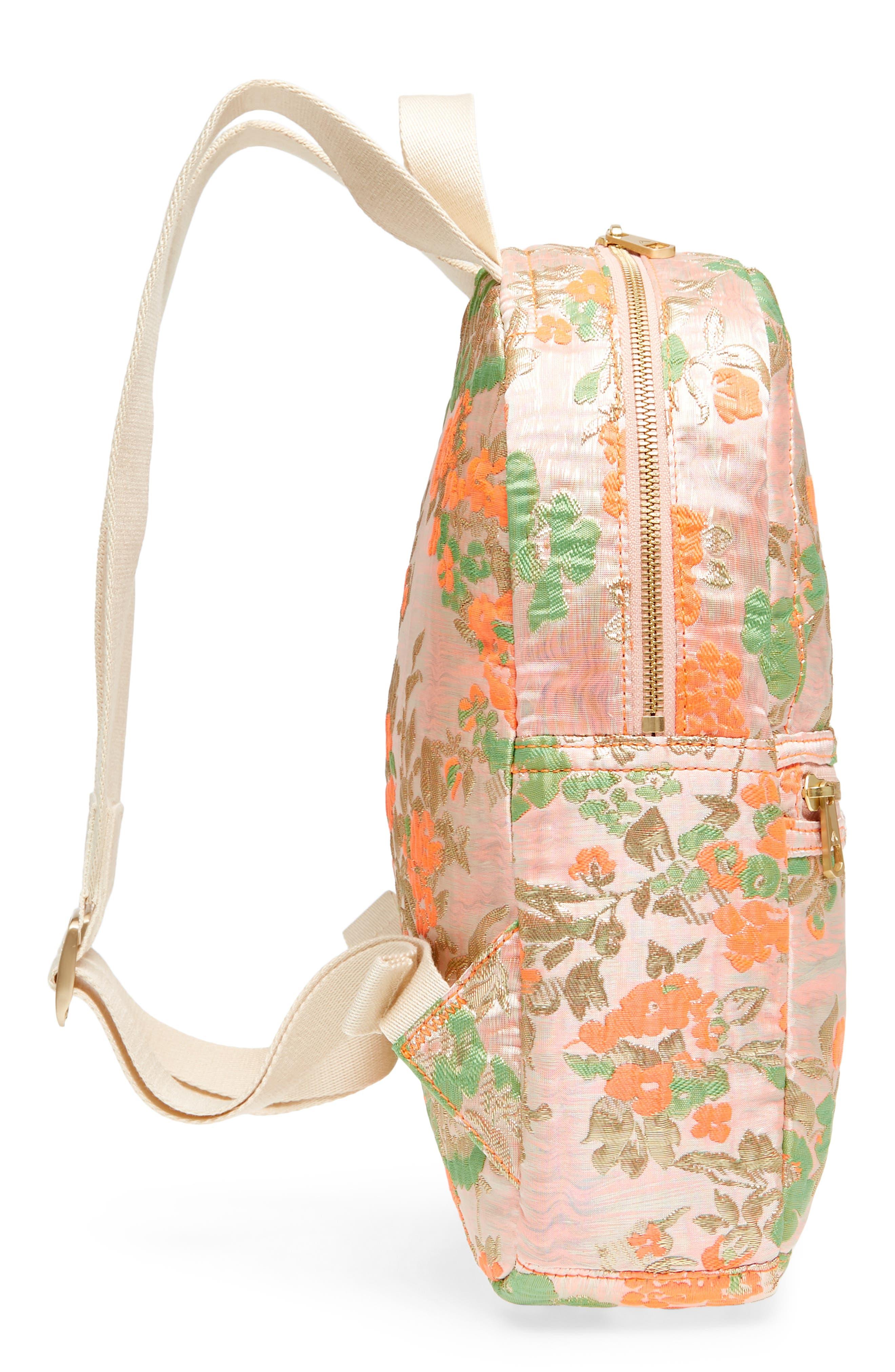 Alternate Image 5  - STATE Bags Mini Kane Brocade Backpack