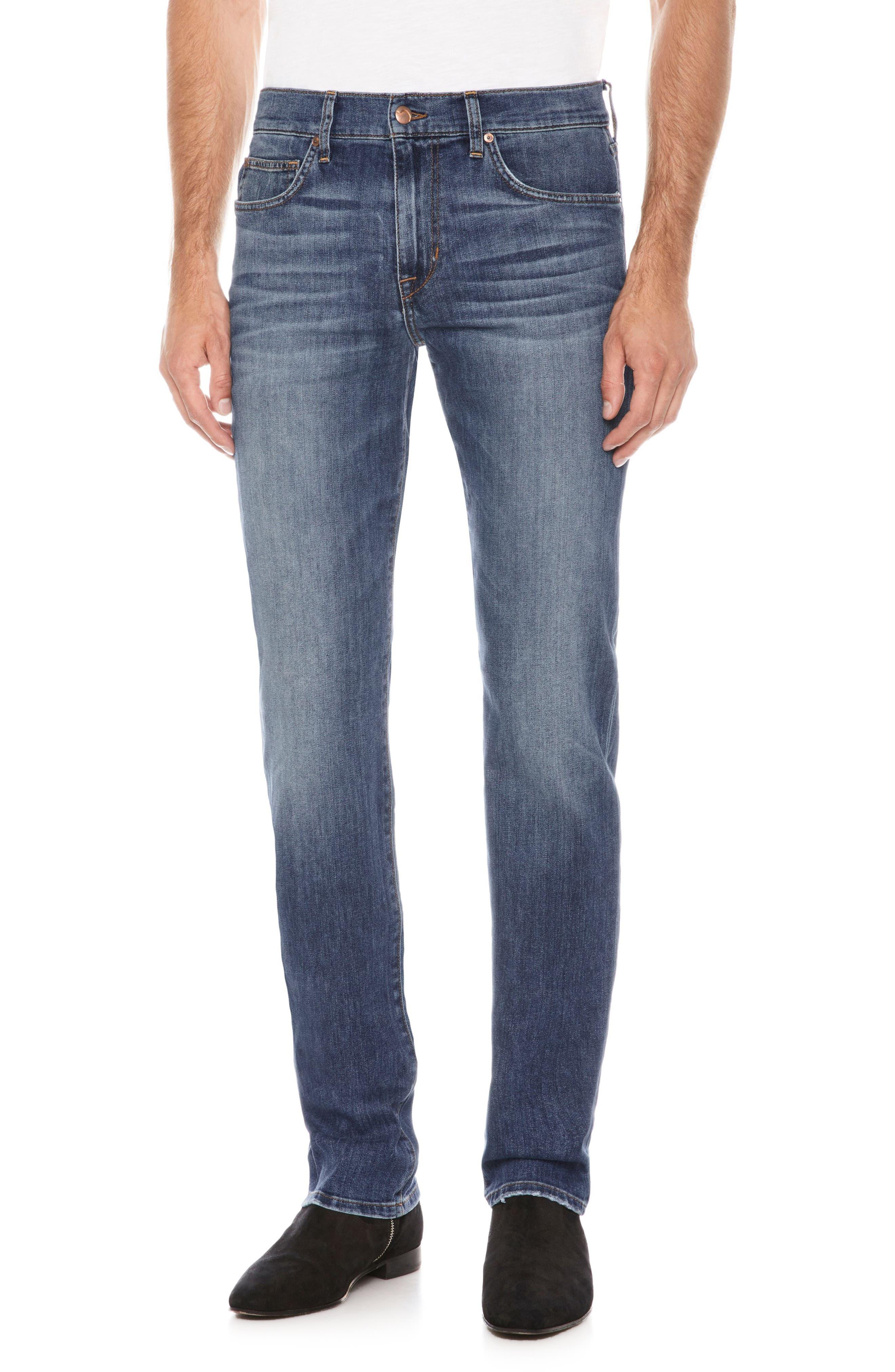 Folsom Slim Fit Jeans,                             Main thumbnail 1, color,                             Freeman