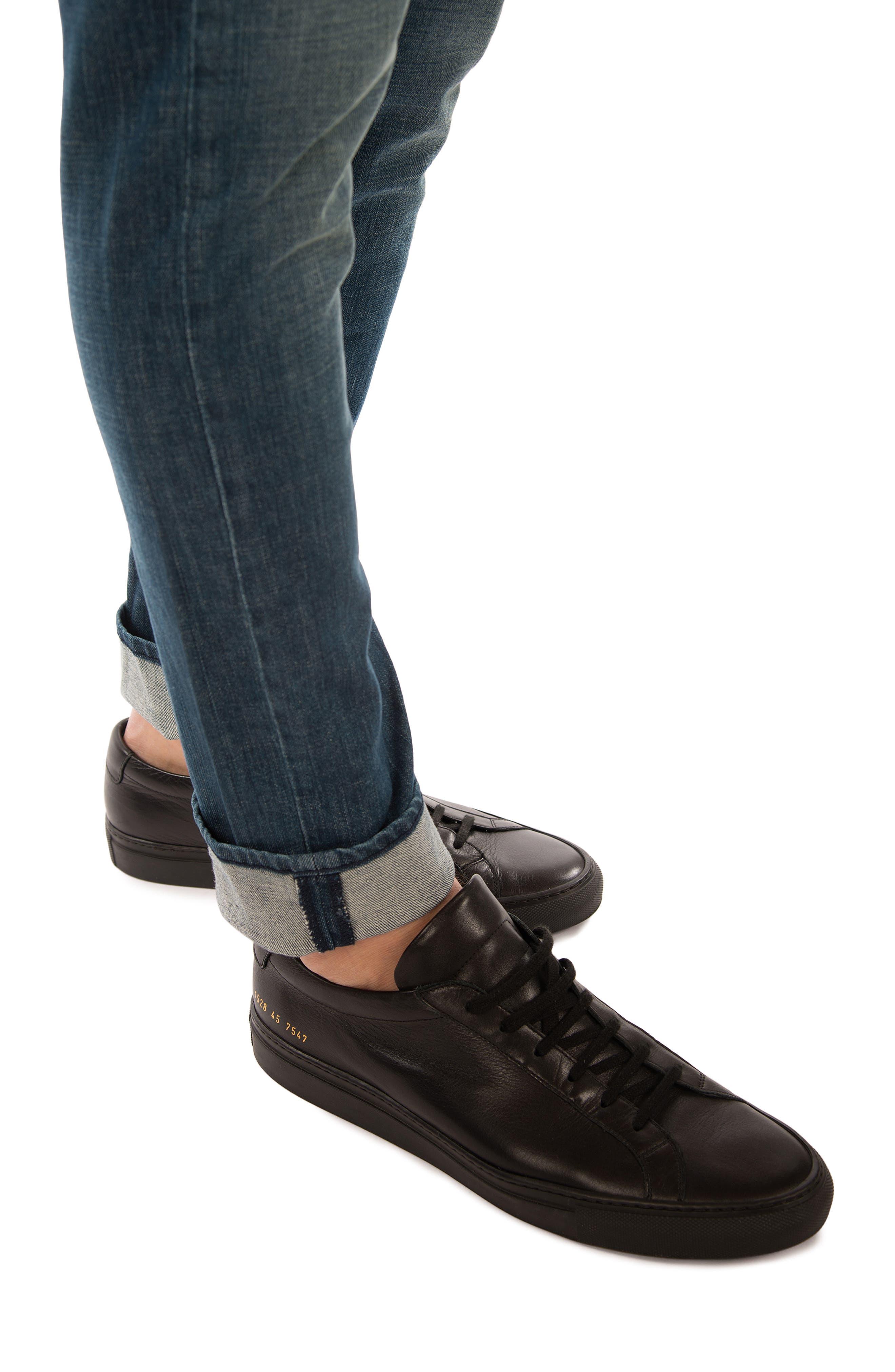 Tyler Slim Fit Jeans,                             Alternate thumbnail 4, color,                             Latitude