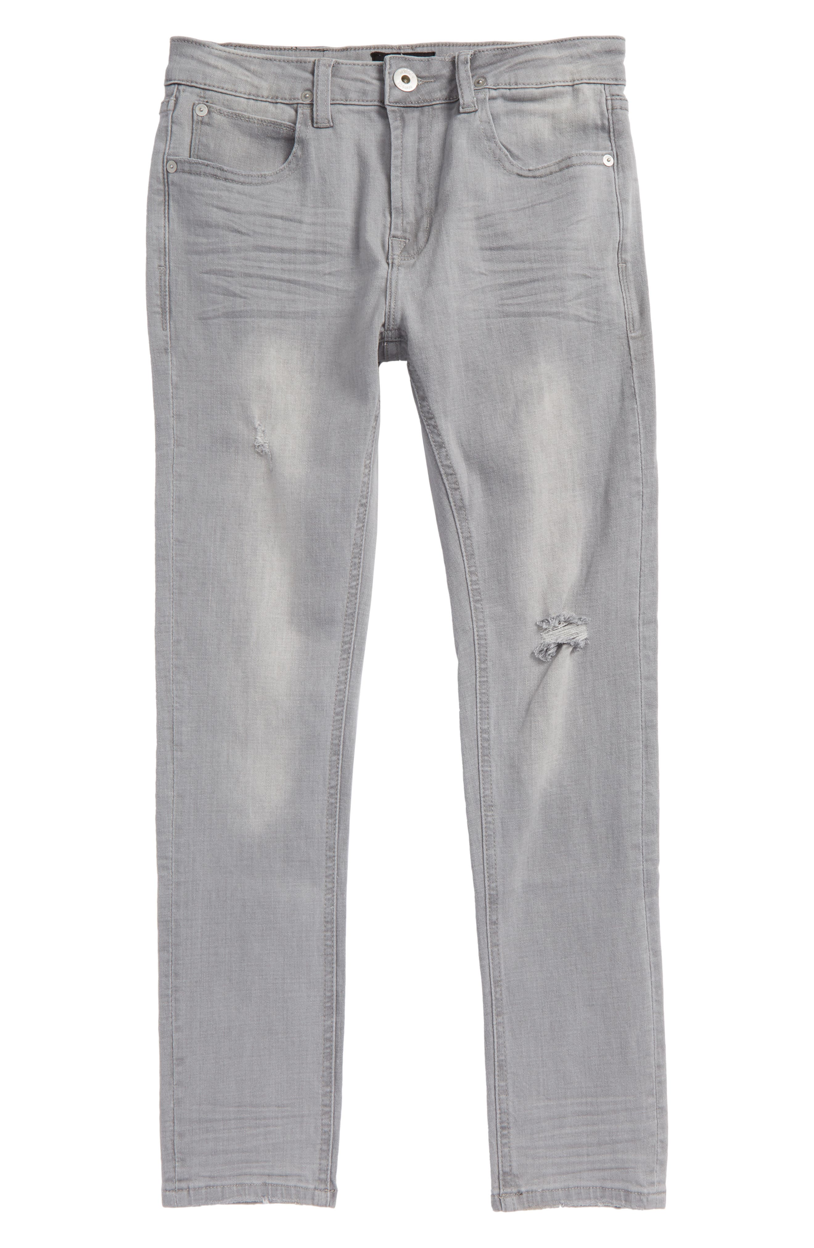 Jude Slim Fit Skinny Jeans,                             Main thumbnail 1, color,                             Ice Gray