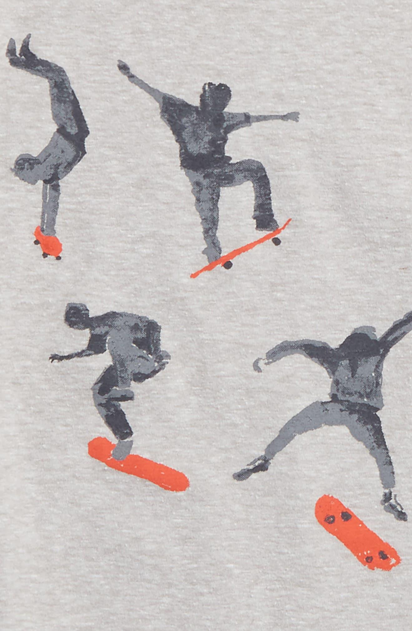 Graphic T-Shirt,                             Alternate thumbnail 2, color,                             Grey Ash Heather Skater