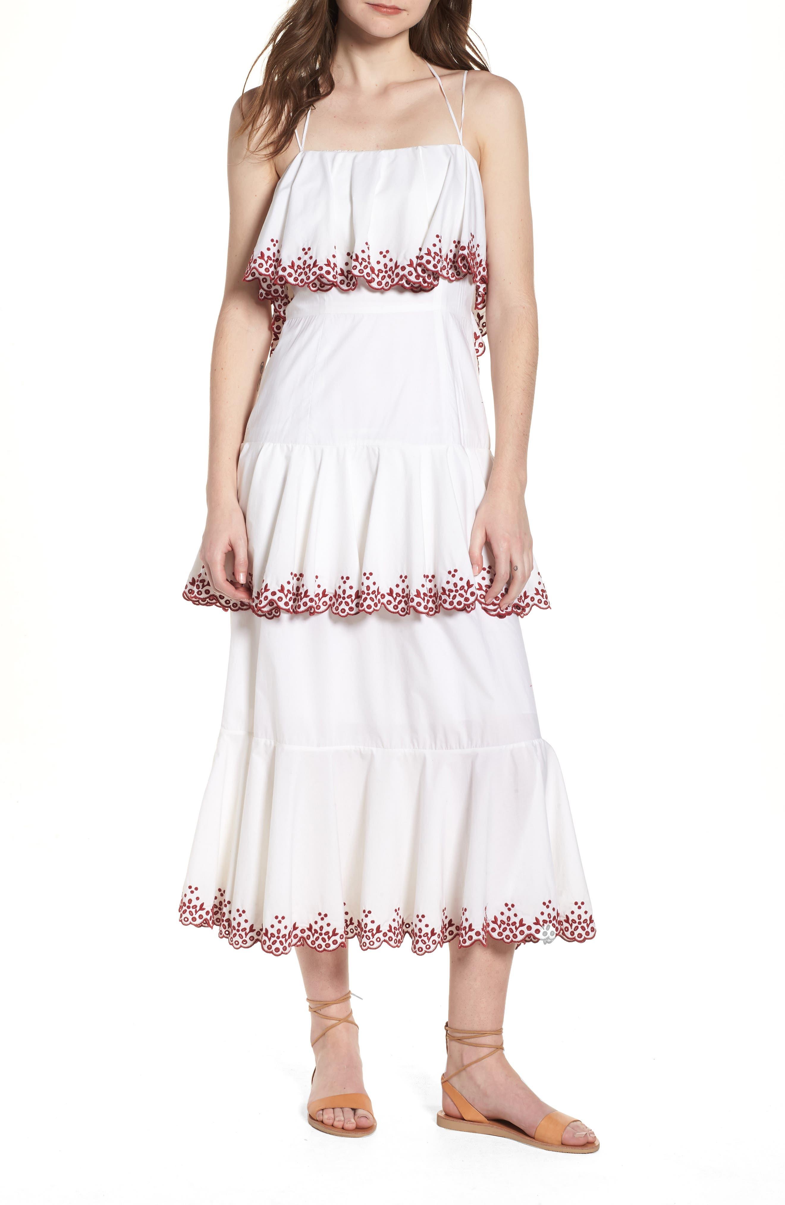 Rebecca Minkoff Clarissa Tiered Dress
