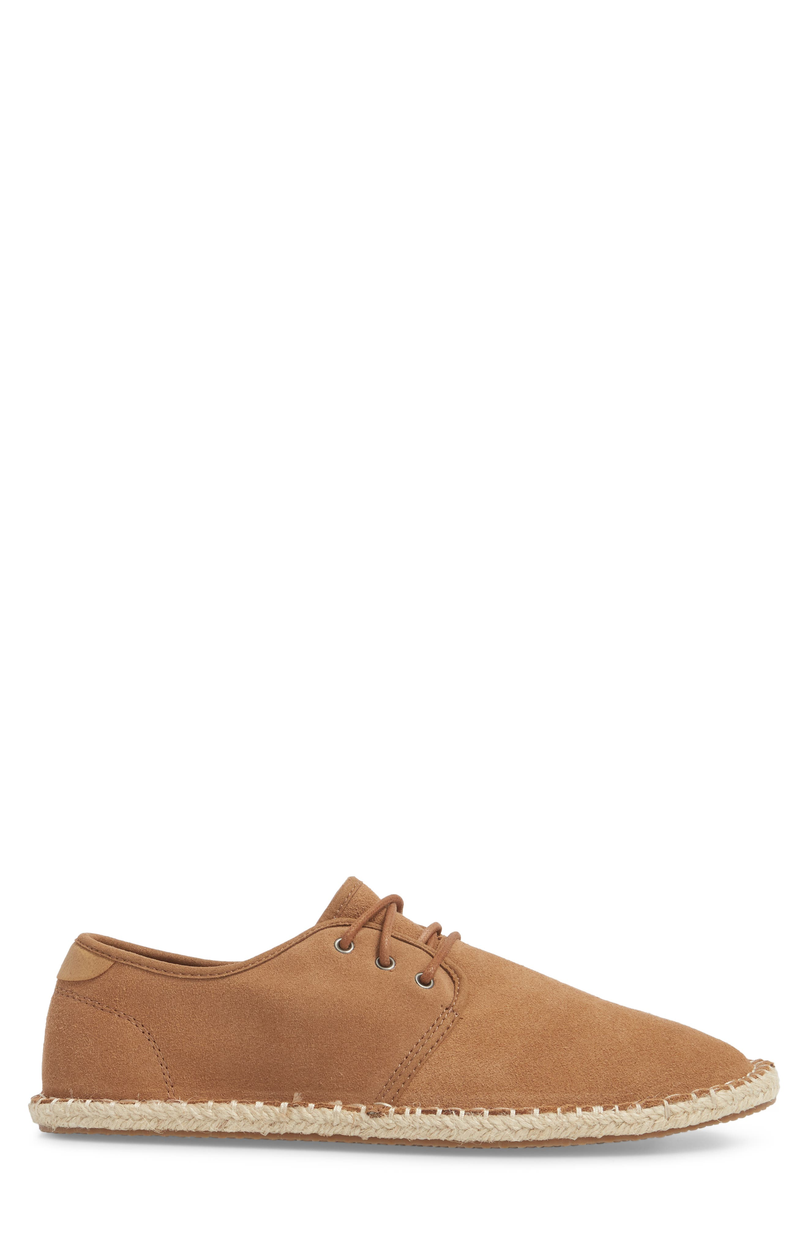 Diego Deconstructed Derby,                             Alternate thumbnail 3, color,                             Toffee Suede