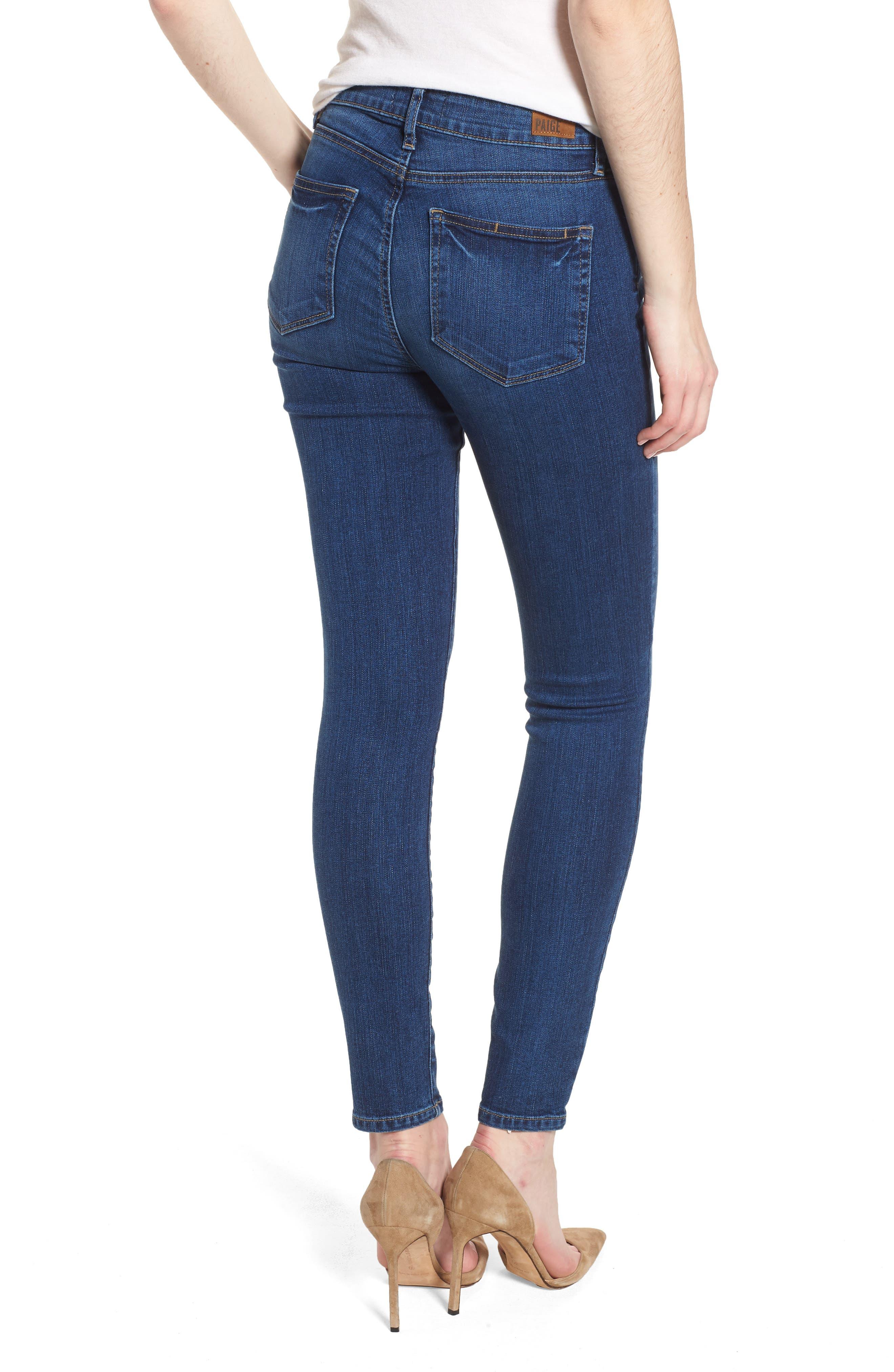 Verdugo Ankle Skinny Jeans,                             Alternate thumbnail 2, color,                             Salida