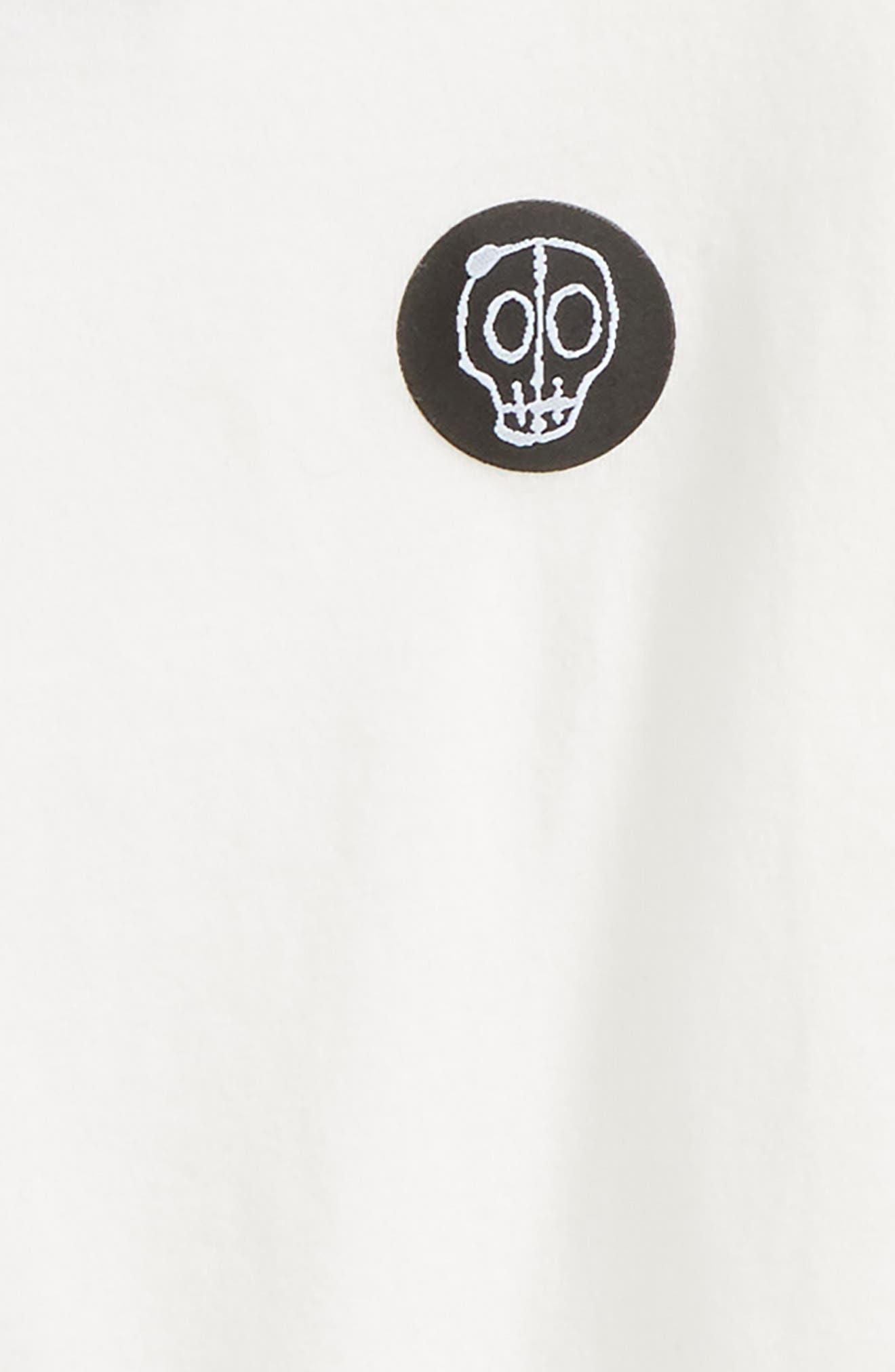 Alternate Image 2  - Nununu Logo Patch T-Shirt (Toddler Boys, Little Boys & Big Boys)