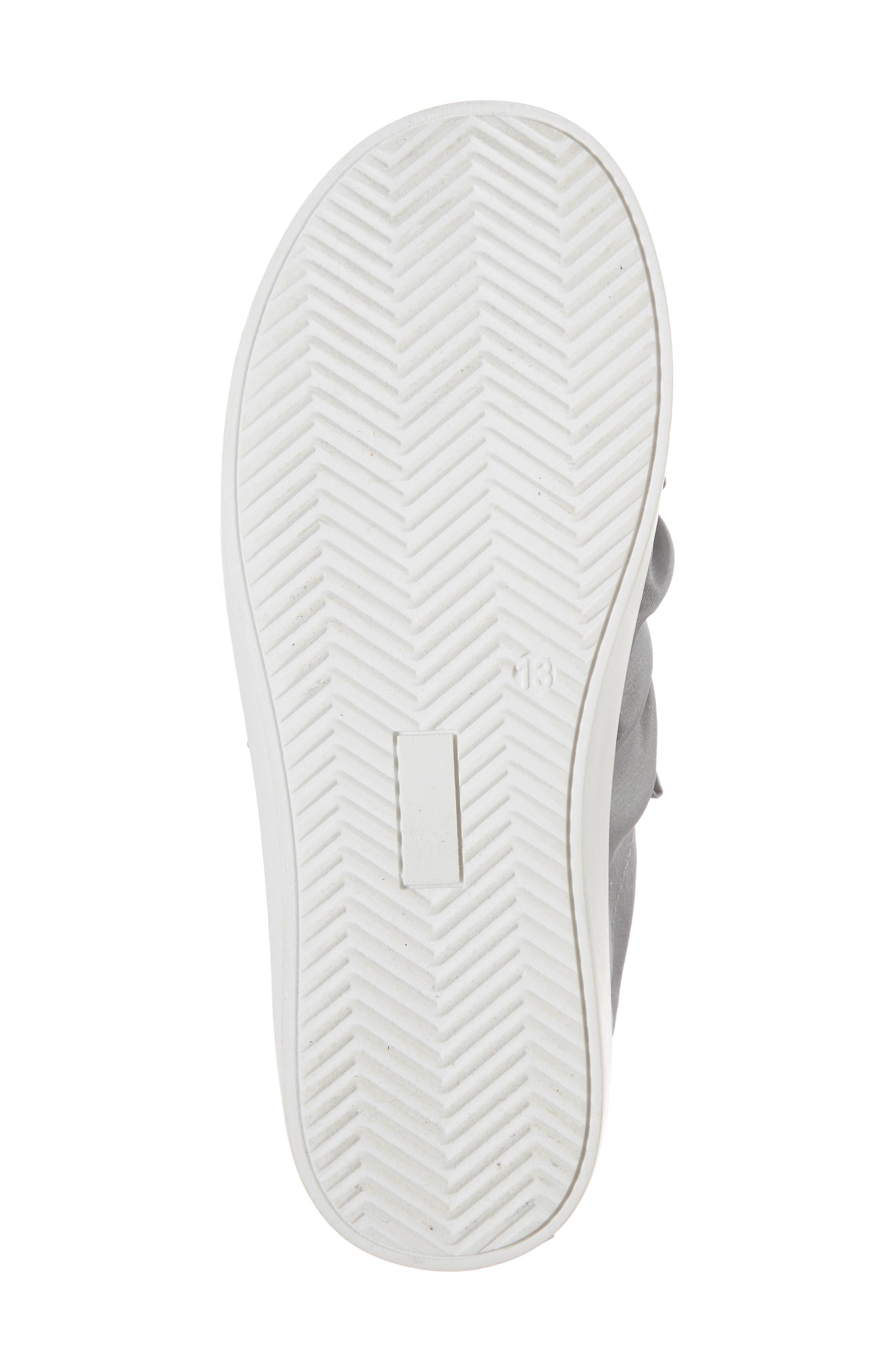 Shout Shine Embellished Sneaker,                             Alternate thumbnail 6, color,                             Gray
