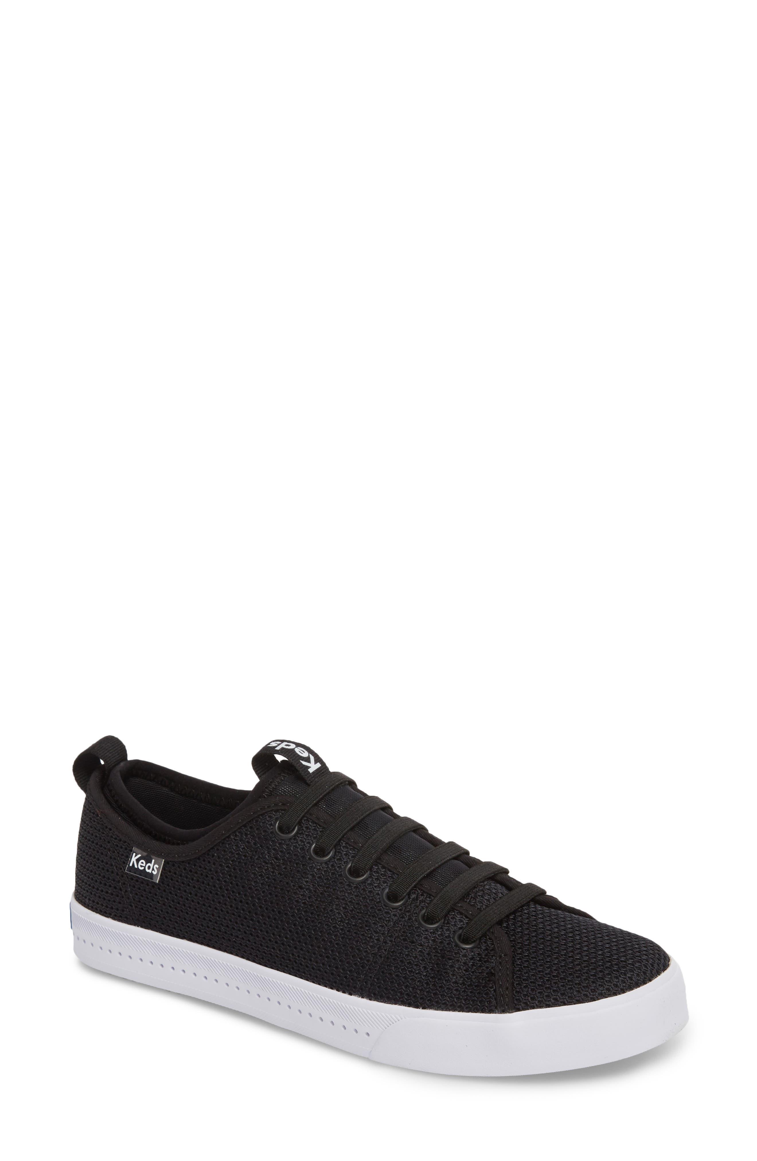 Driftkick Heathered Mesh Sneaker,                             Main thumbnail 1, color,                             Black