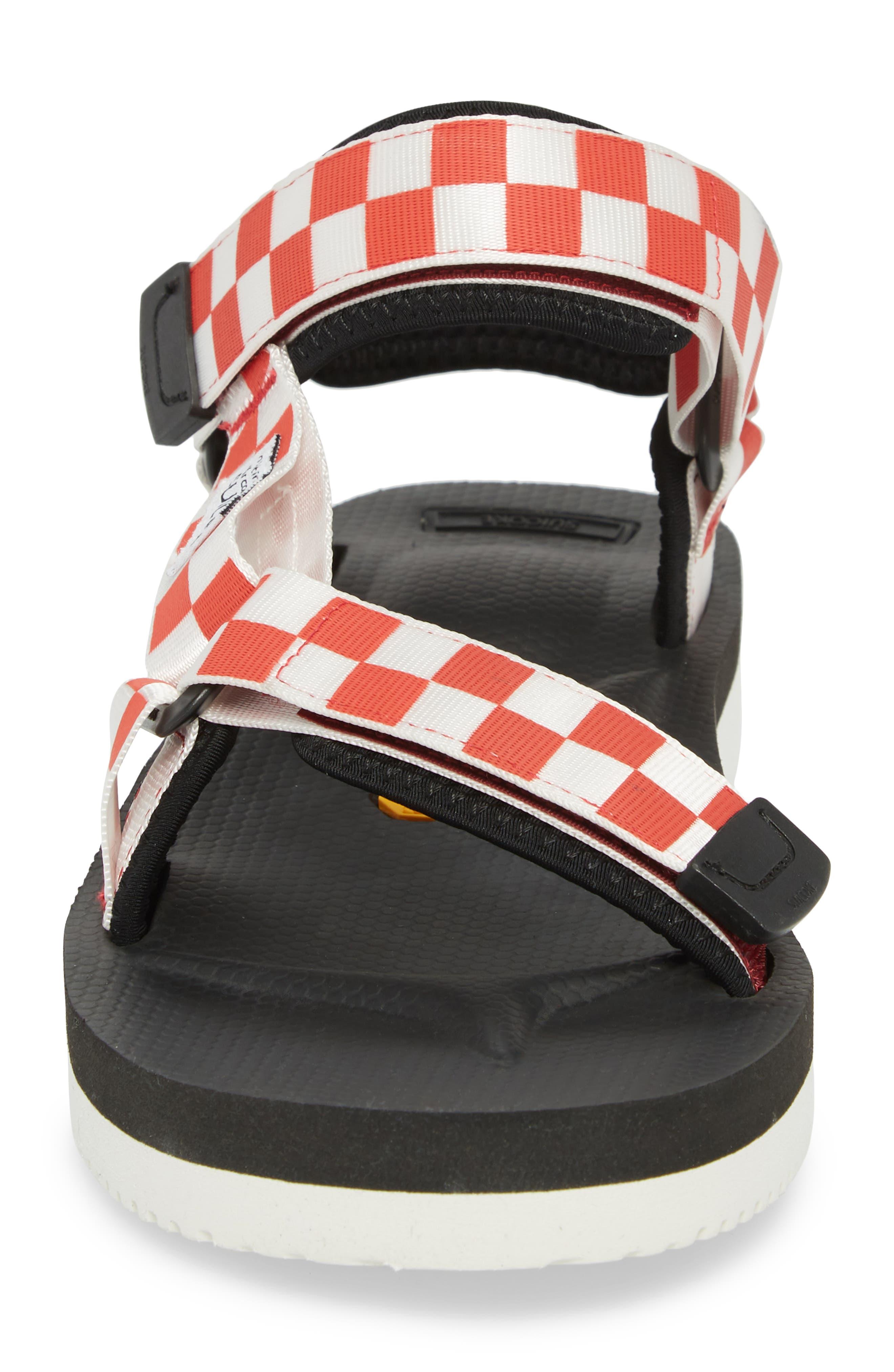 Depa Sport Sandal,                             Alternate thumbnail 4, color,                             Red