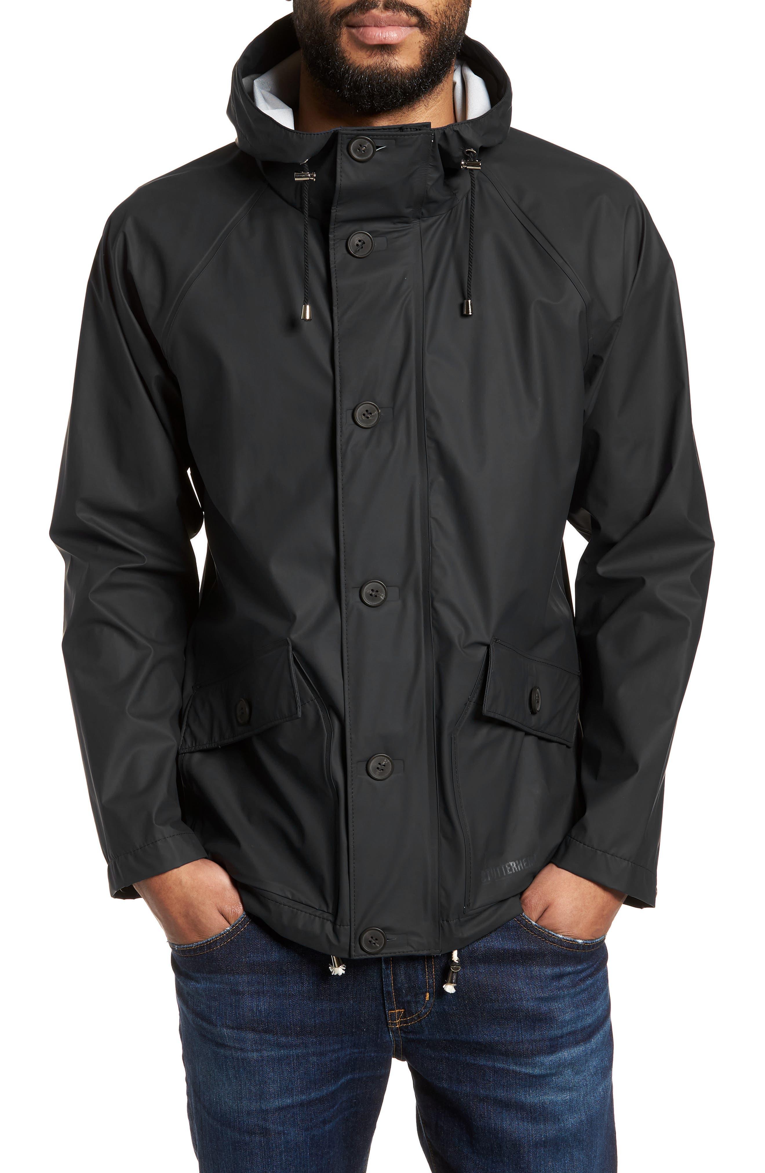 Stenhamra Classic Fit Jacket,                         Main,                         color, Black