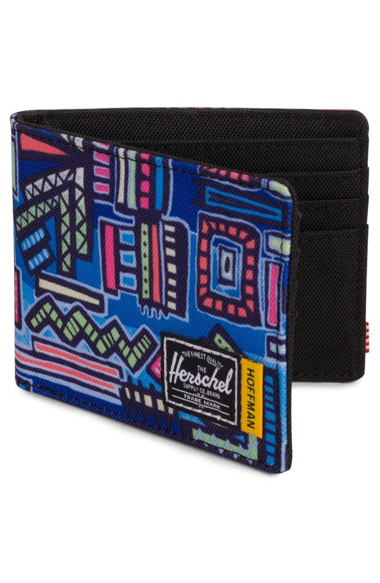 Hoffman Roy Wallet,                             Alternate thumbnail 3, color,                             Abstract Geo