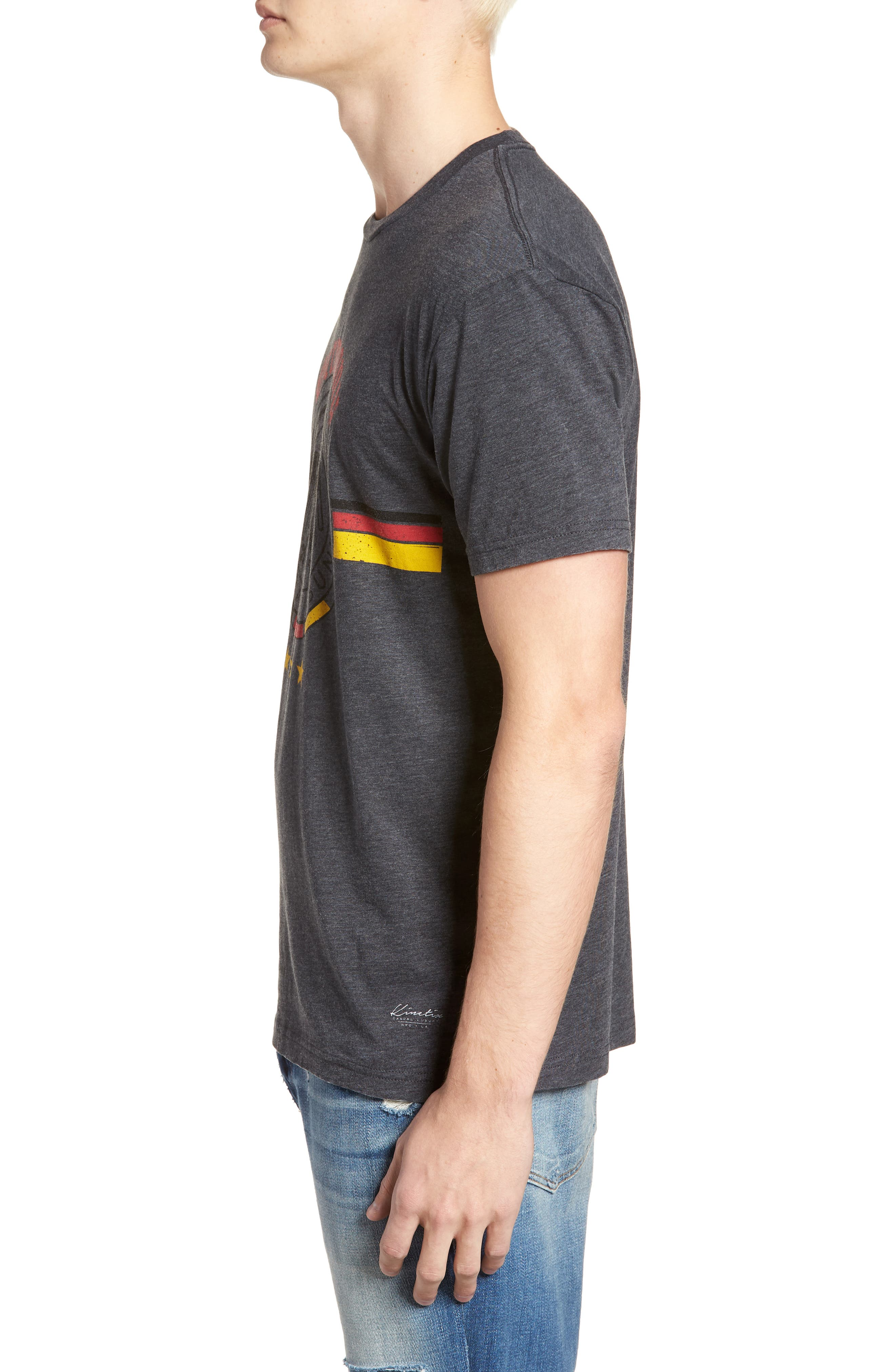 Germany Jersey T-Shirt,                             Alternate thumbnail 3, color,                             Charcoal