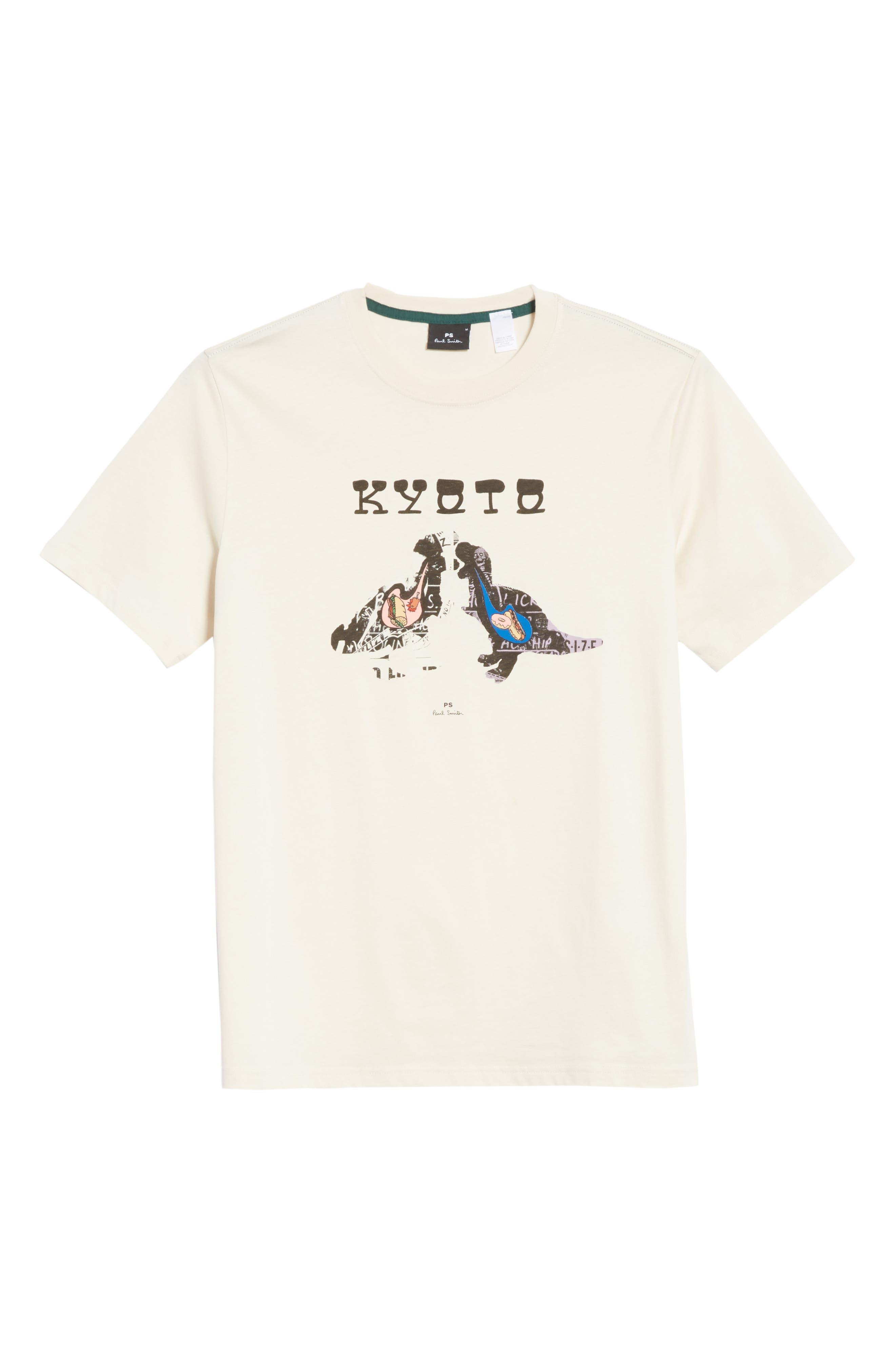 Kyoto Graphic T-Shirt,                             Alternate thumbnail 6, color,                             Natural