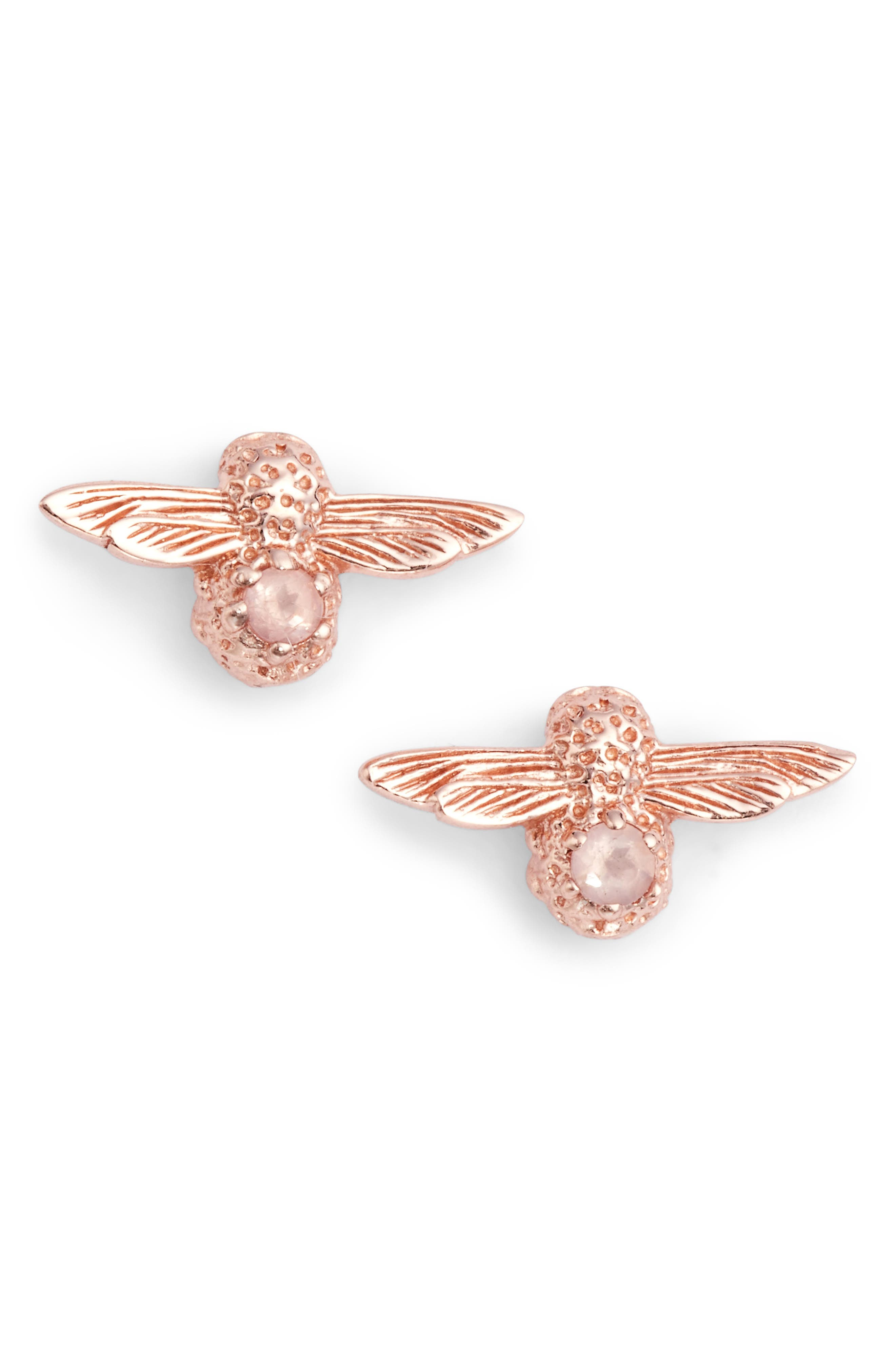 Olivia Burton Bee Stud Earrings
