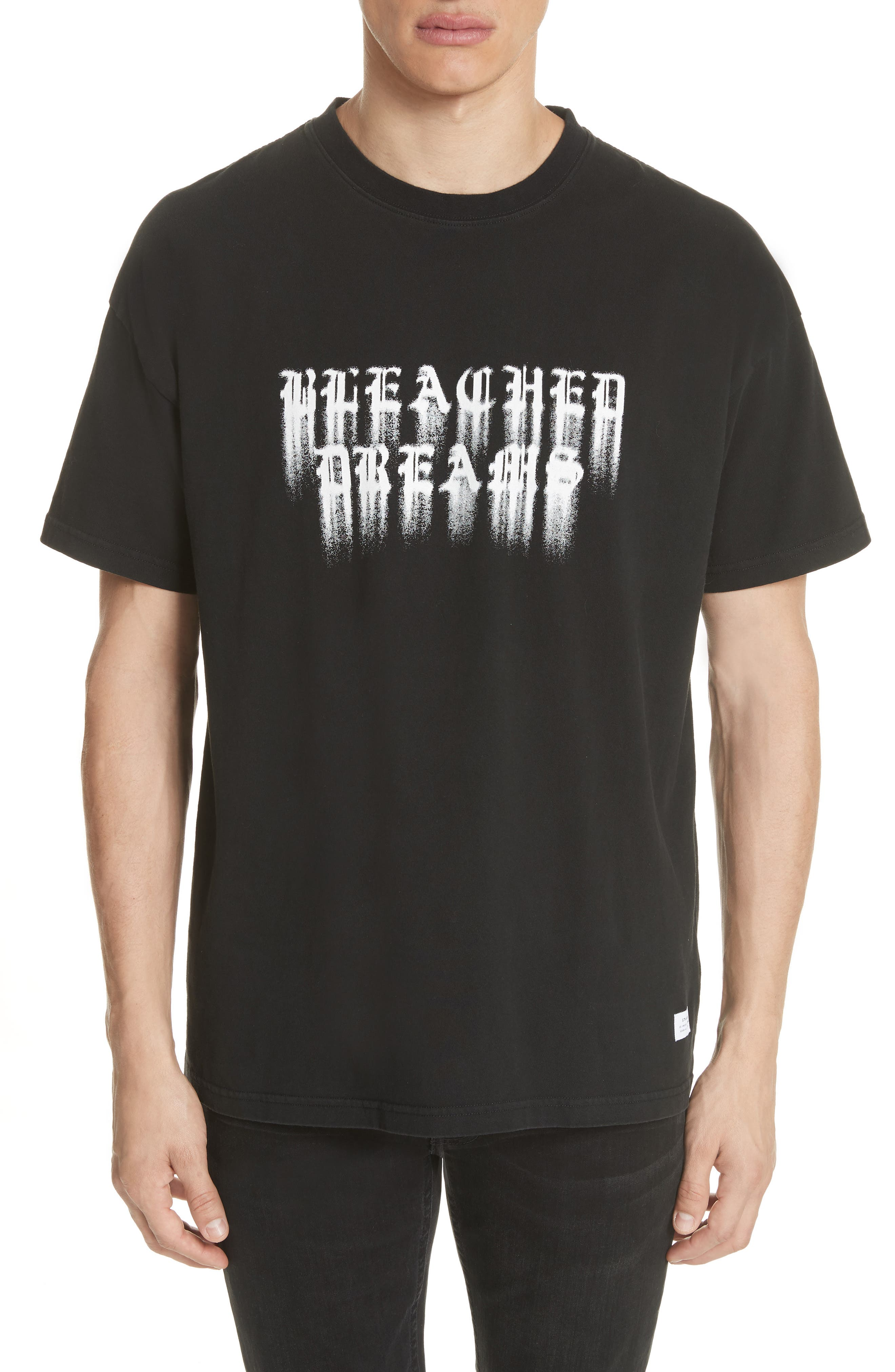 Alternate Image 1 Selected - STAMPD Bleached Dreams Graphic T-Shirt