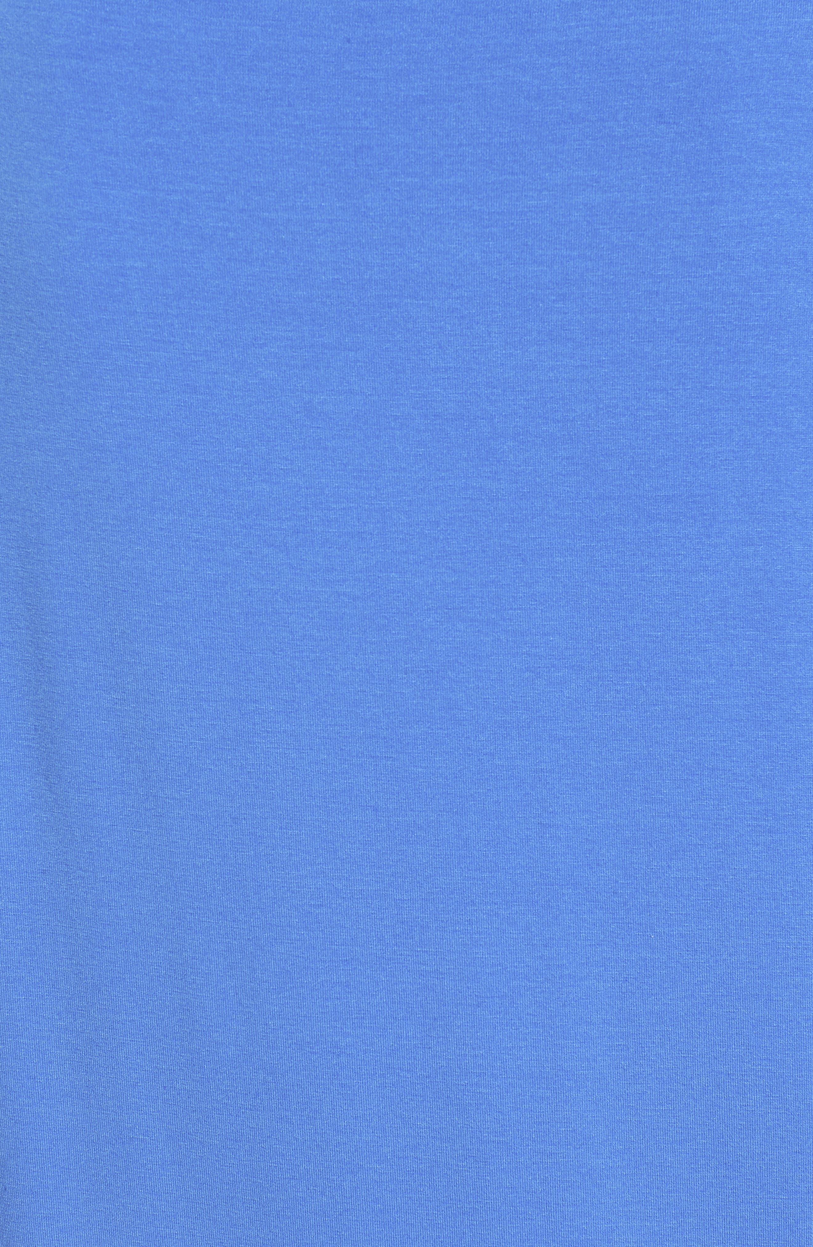 Asymmetrical Jersey Top,                             Alternate thumbnail 4, color,                             Blue Bell